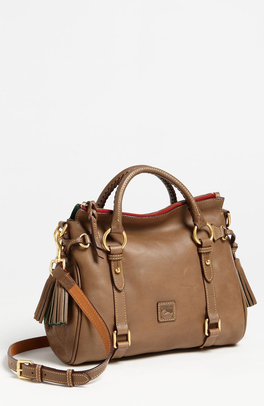 Main Image - Dooney & Bourke 'Florentine - Small' Leather Crossbody Satchel