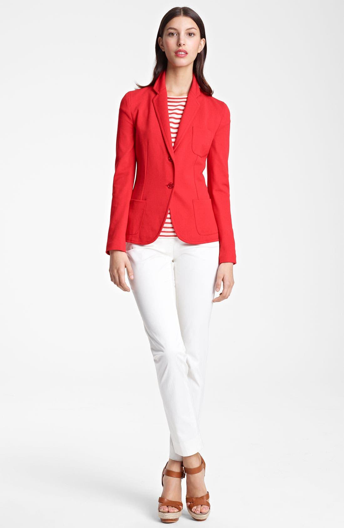 Main Image - Armani Collezioni Jacket, Top & Pants