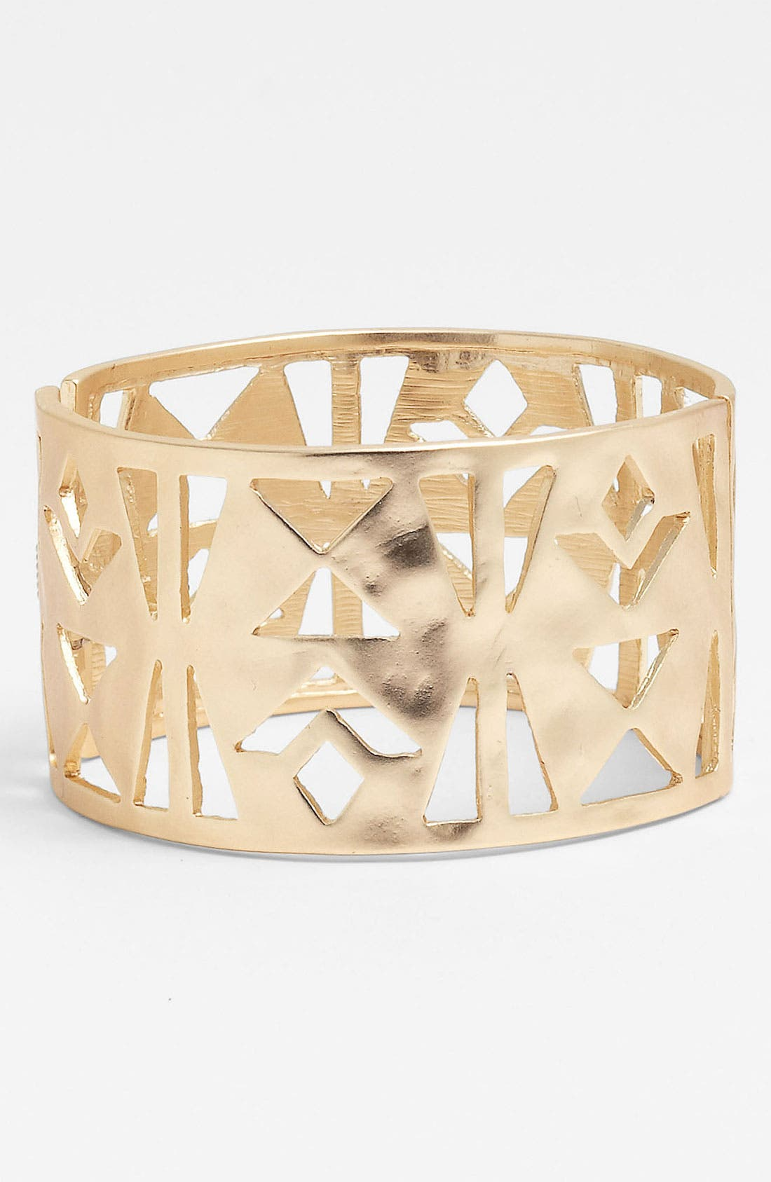 Main Image - Nordstrom Tribal Cutout Hinged Bangle