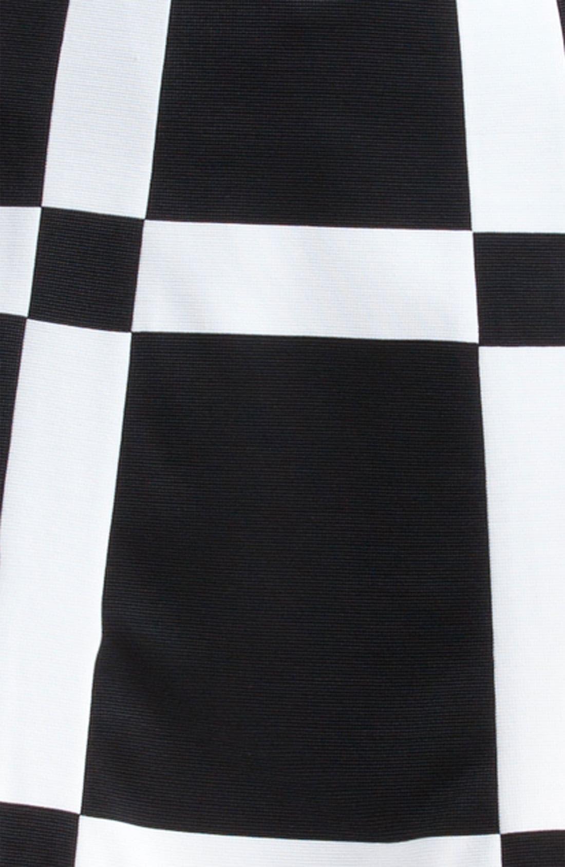 Alternate Image 3  - Marni Edition Grid Print Knit Skirt