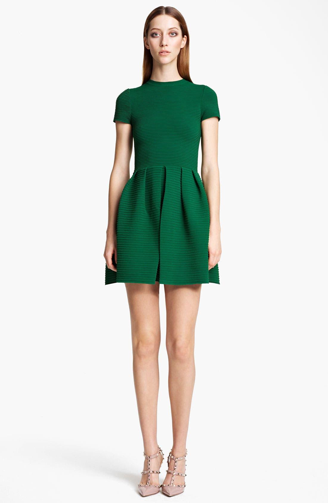 Main Image - Valentino Open Back Full Skirt Dress