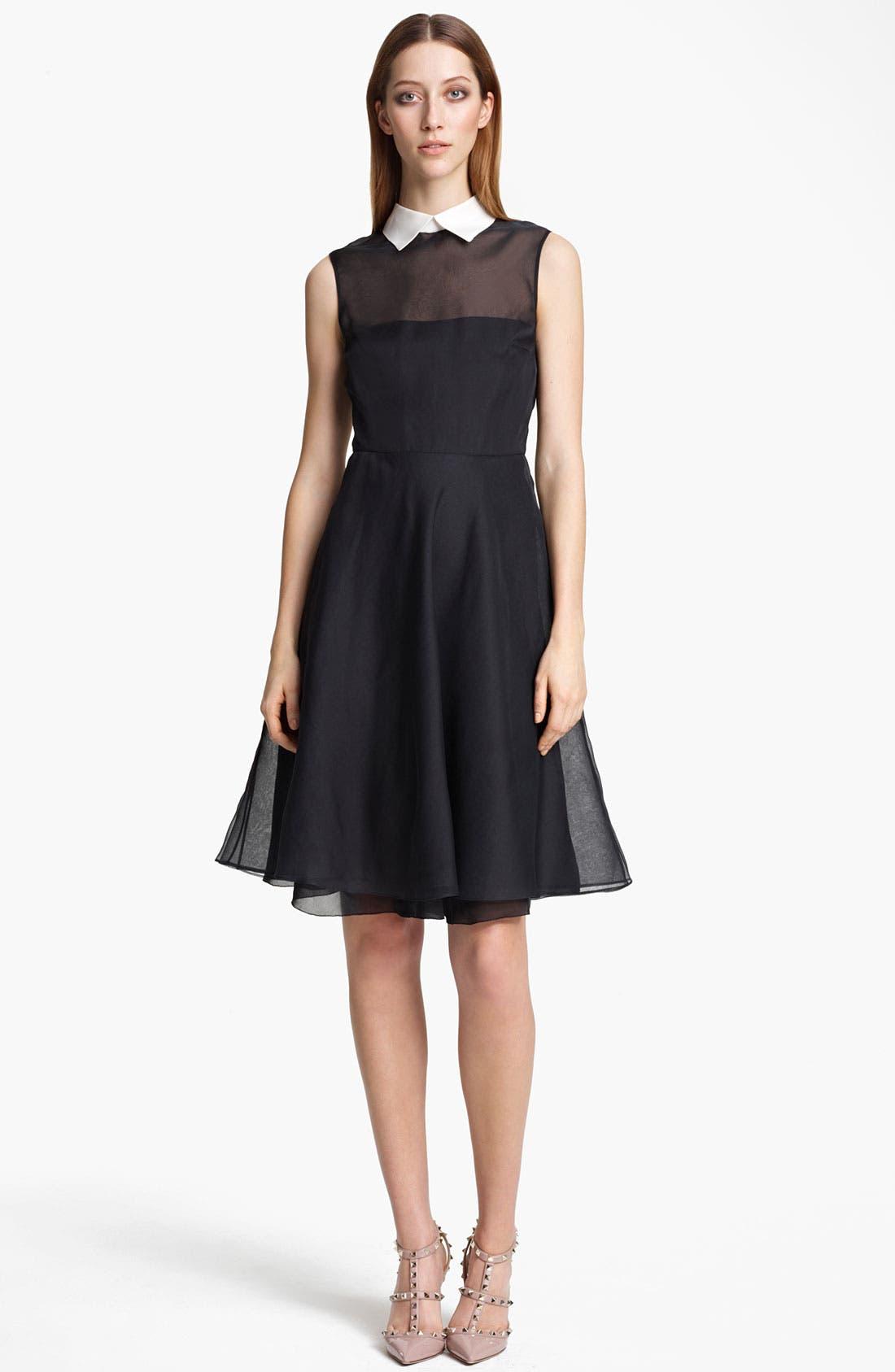 Main Image - Valentino Organza Dress
