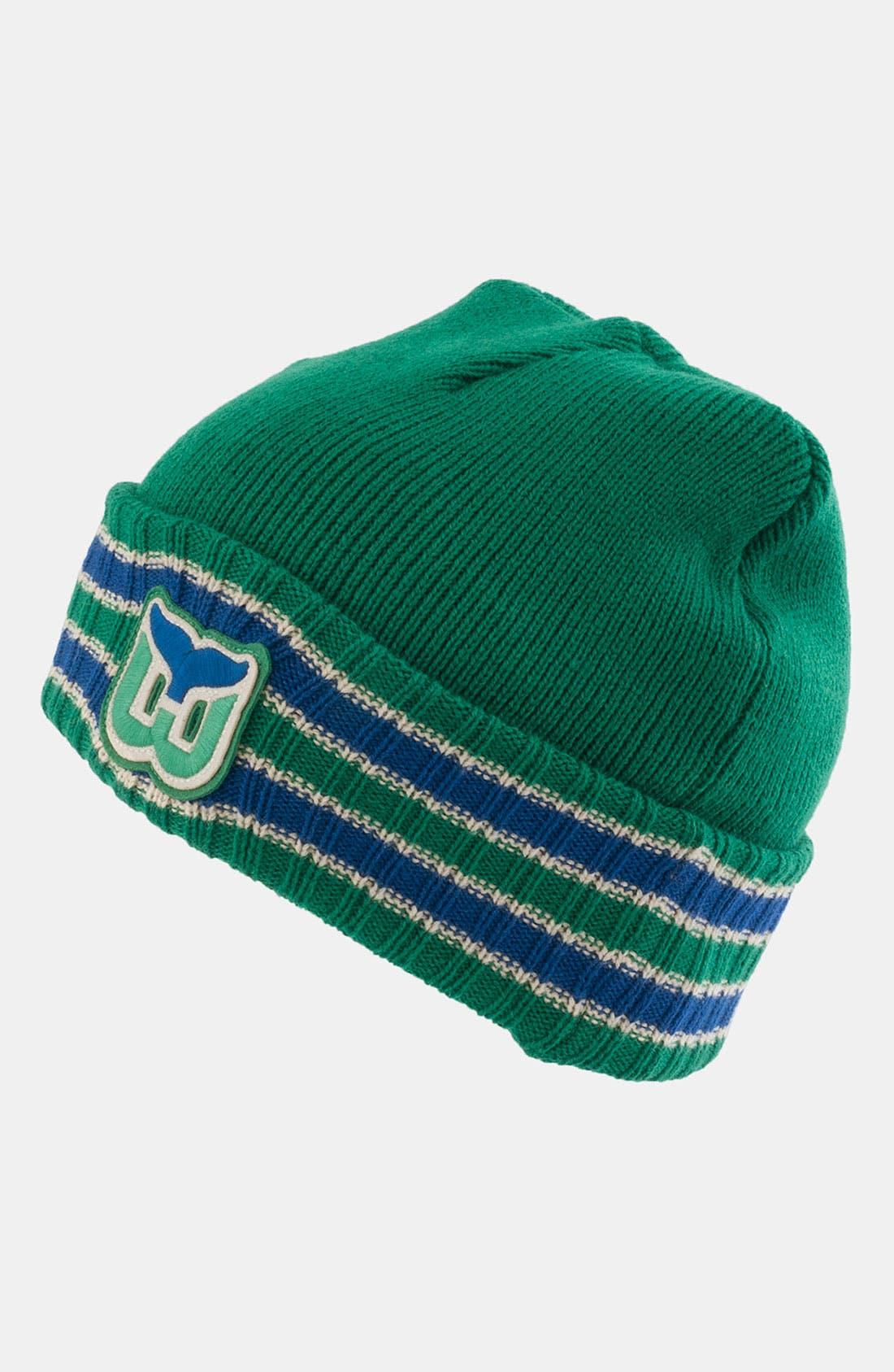 Alternate Image 1 Selected - American Needle 'Hartford Whalers - Slash' Knit Hat