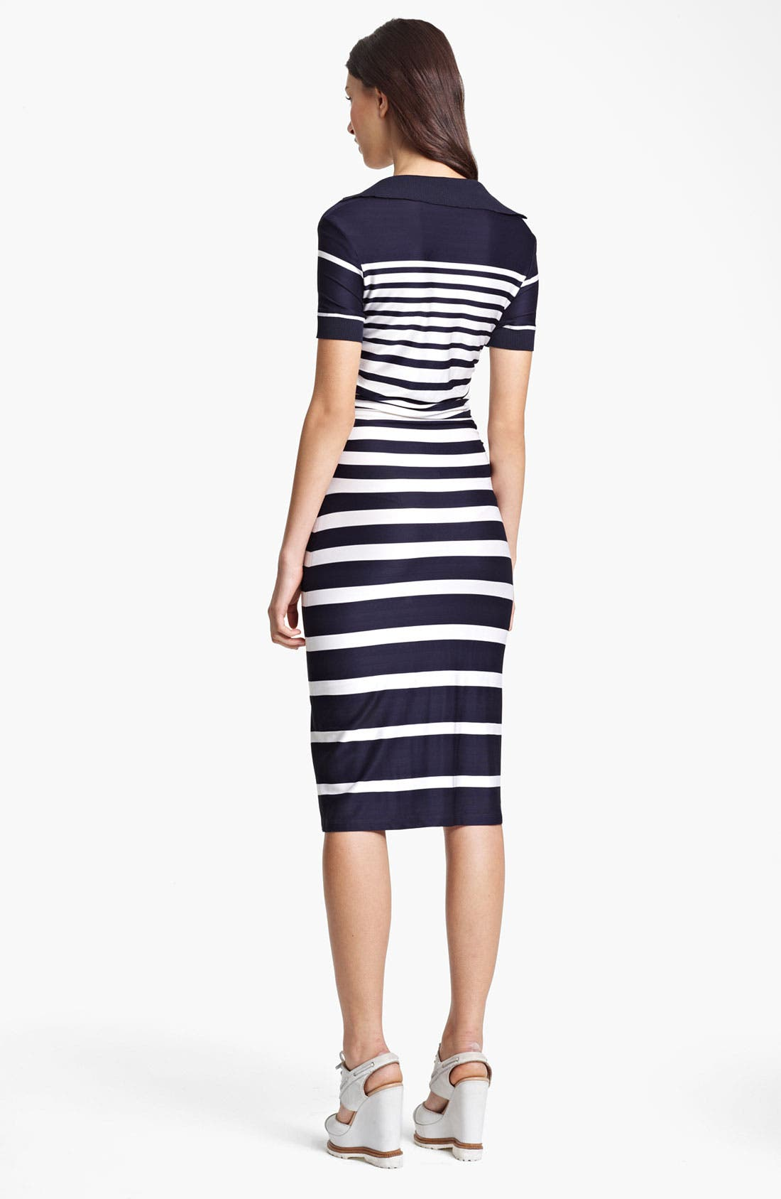 Alternate Image 2  - Jean Paul Gaultier Stripe Jersey Dress