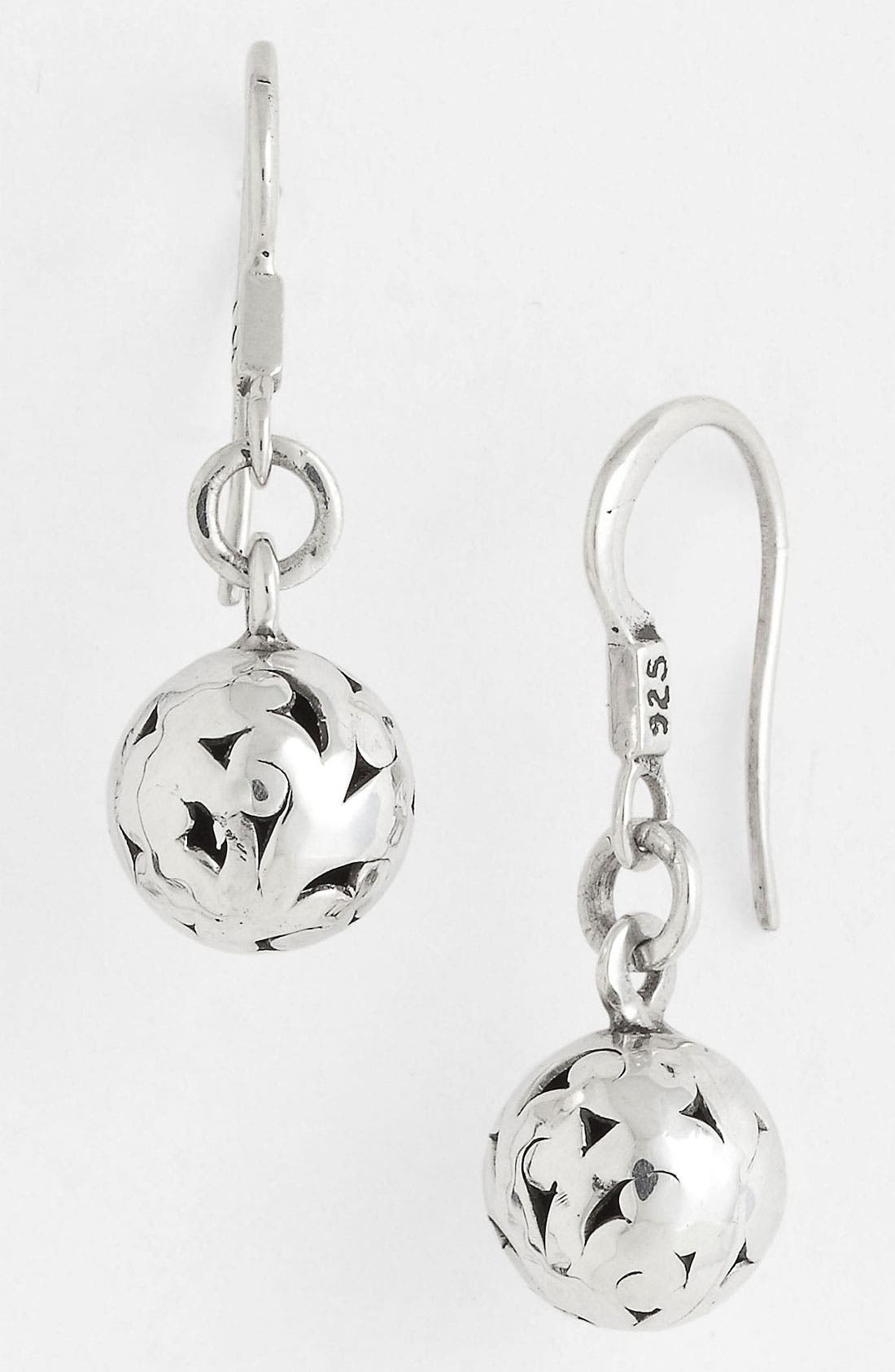 Alternate Image 1 Selected - Lois Hill 'Ball & Chain' Cutout Drop Earrings