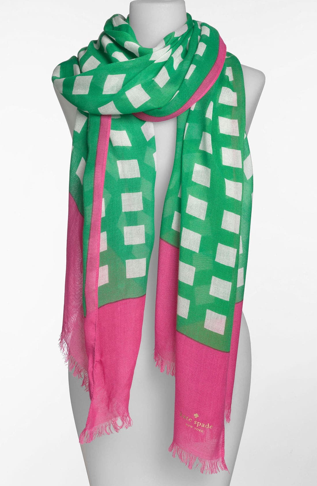 Main Image - kate spade new york 'pop art' scarf