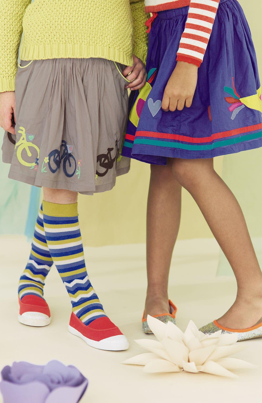 Alternate Image 2  - Mini Boden 'Decorative' Skirt (Little Girls & Big Girls)