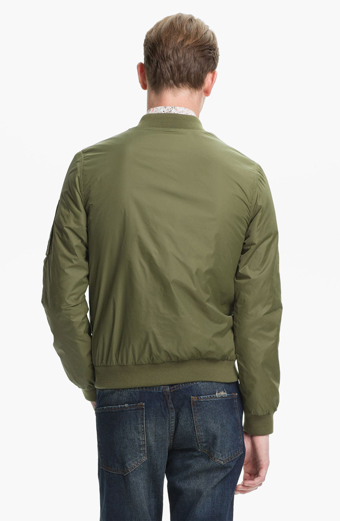 Alternate Image 2  - Topman Bomber Jacket
