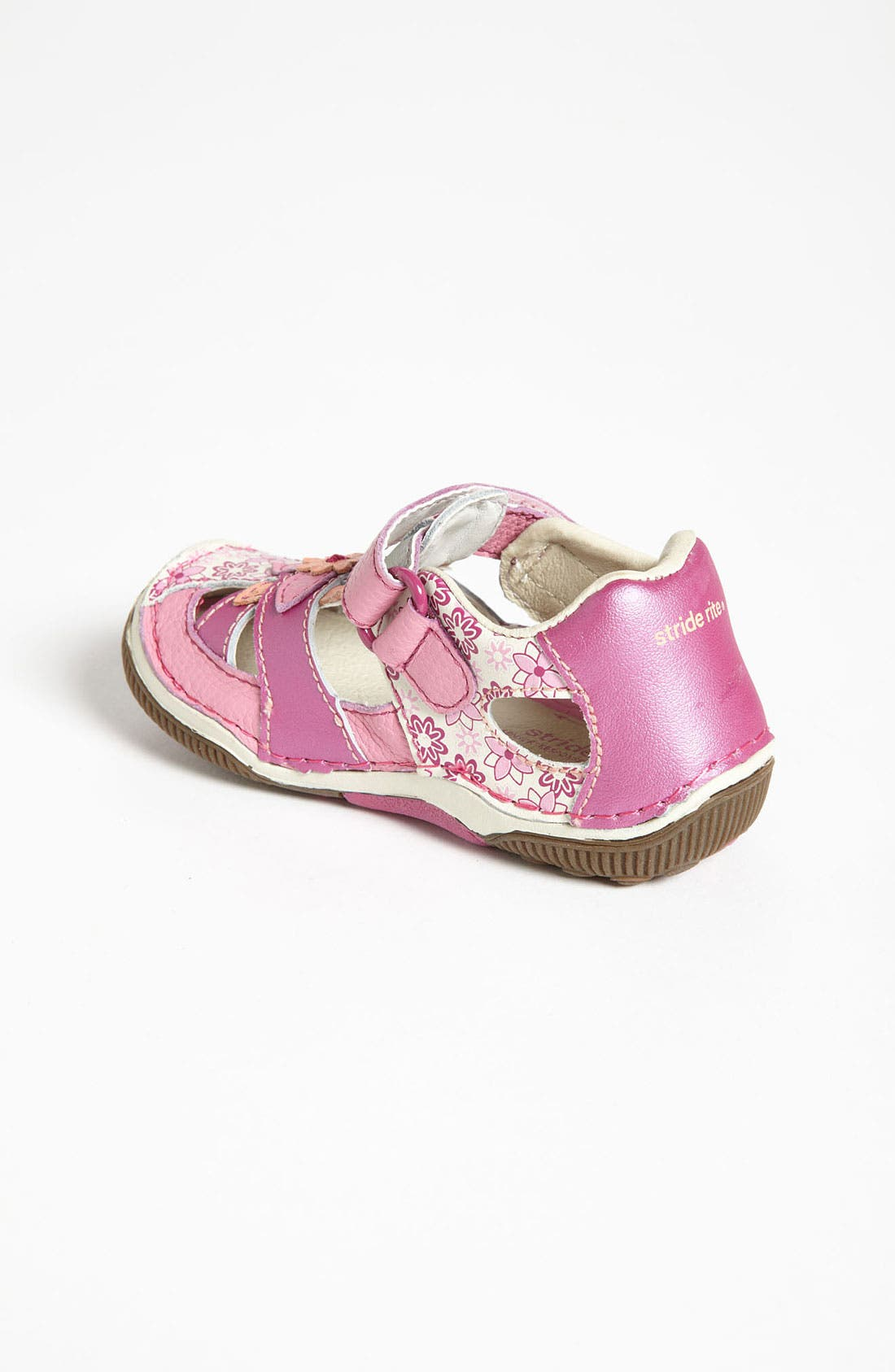 Alternate Image 2  - Stride Rite 'Junie' Sandal (Baby, Walker & Toddler)