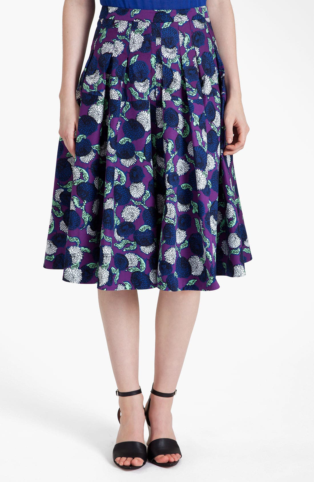 Alternate Image 1 Selected - Marni Mum Print Gabardine Skirt