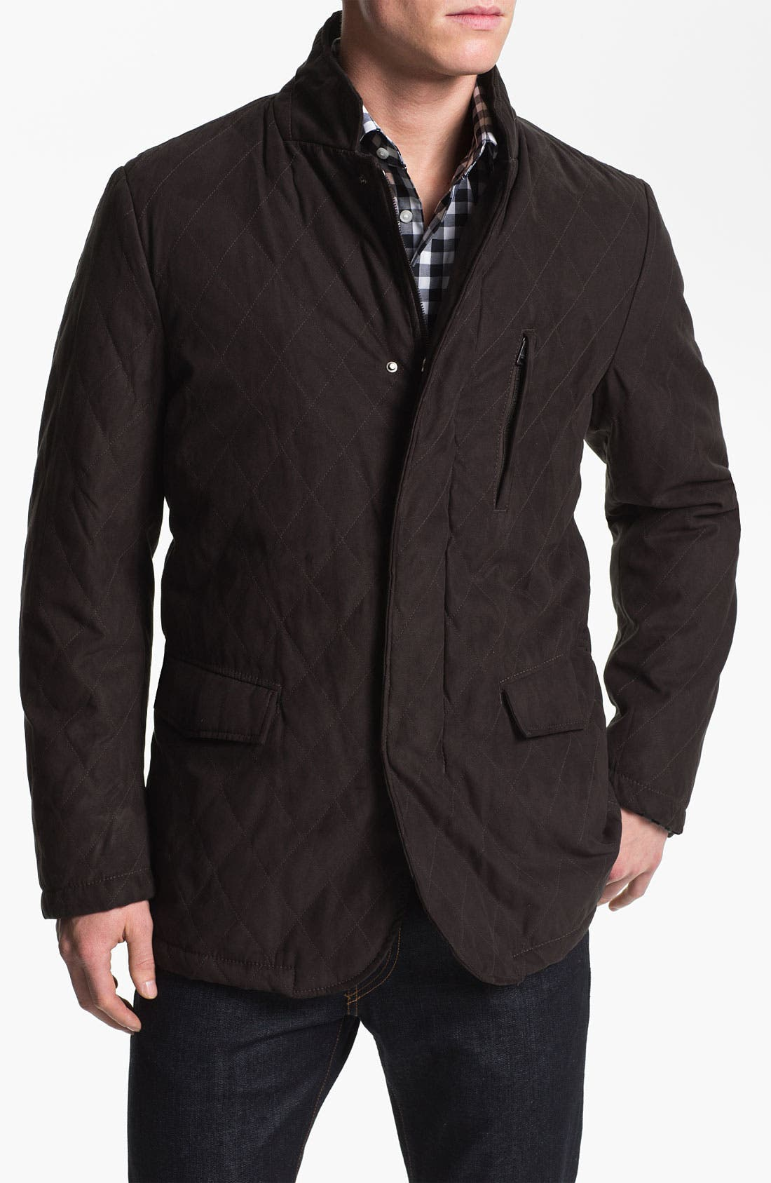 Alternate Image 1 Selected - Allegri 'City Caban' Water Repellent Quilted Jacket