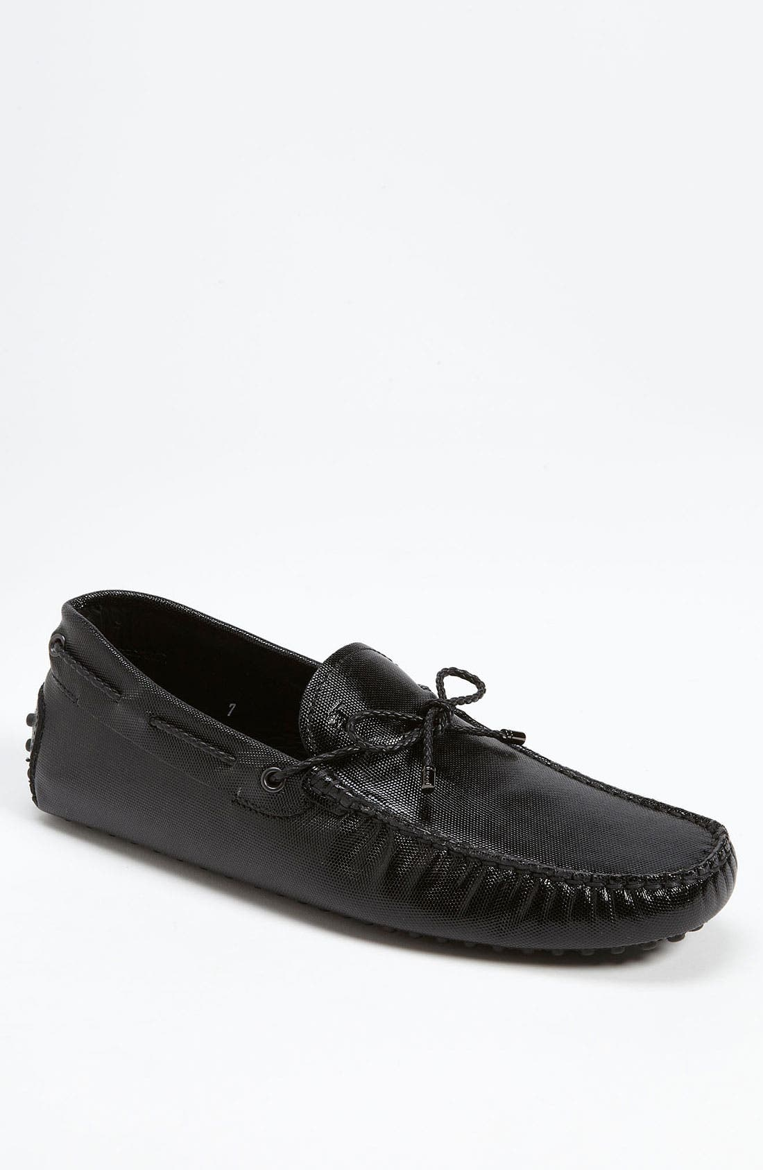Alternate Image 1 Selected - Tod's Textured Driving Shoe