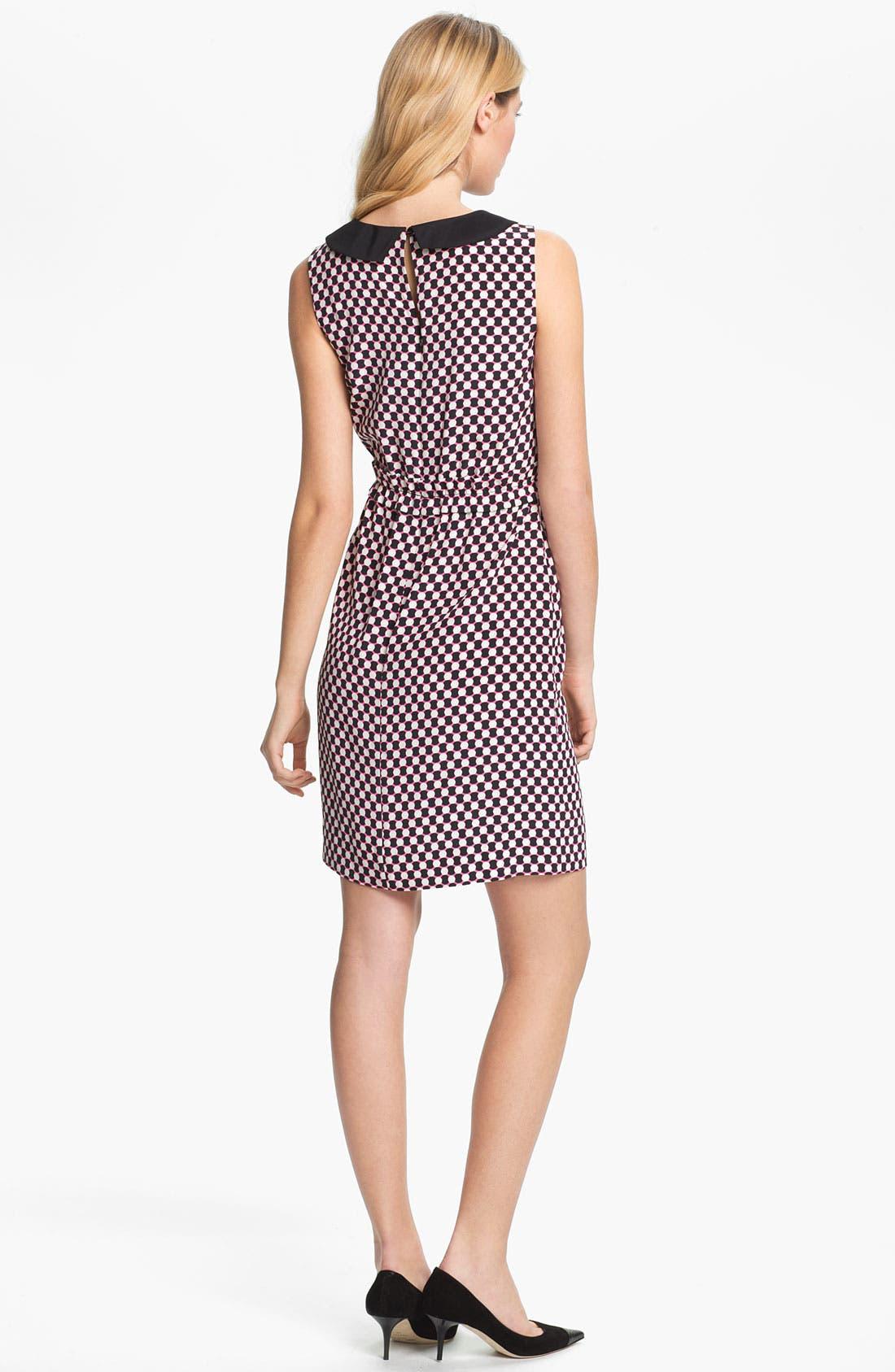 Alternate Image 2  - kate spade new york 'neal' silk sheath dress