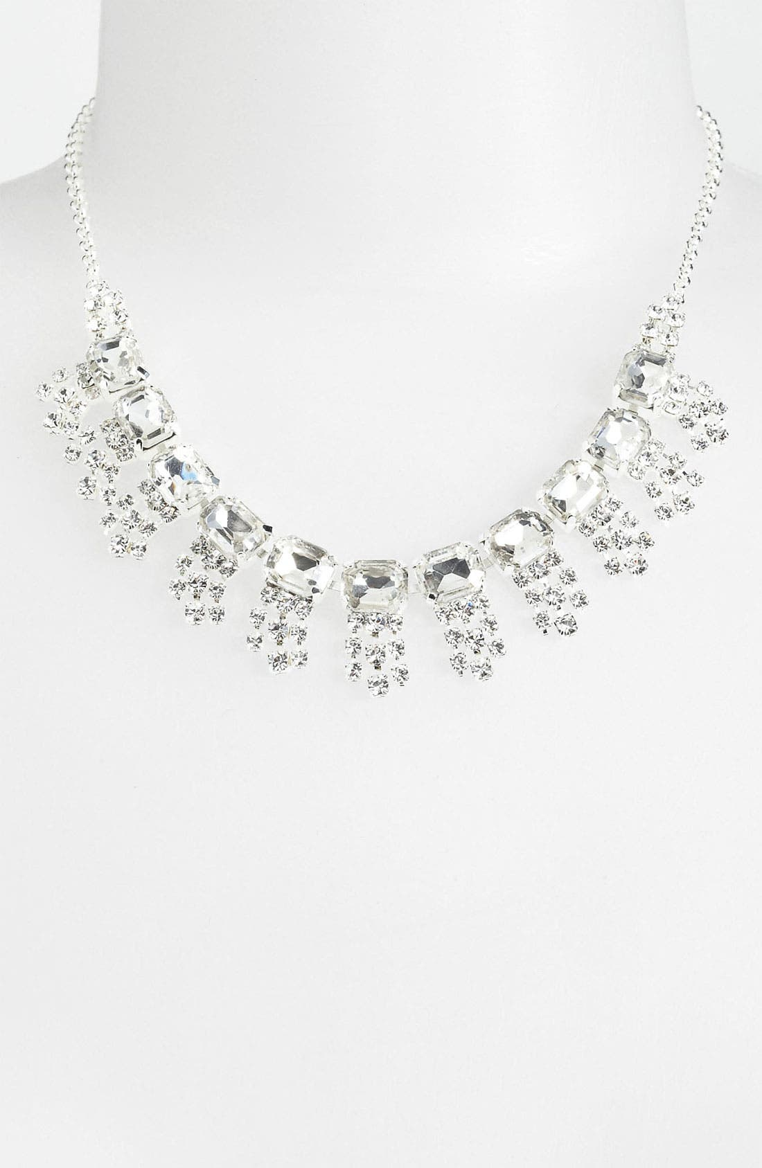 Alternate Image 2  - Rosa Crystal Collection Jewelry Bib Necklace