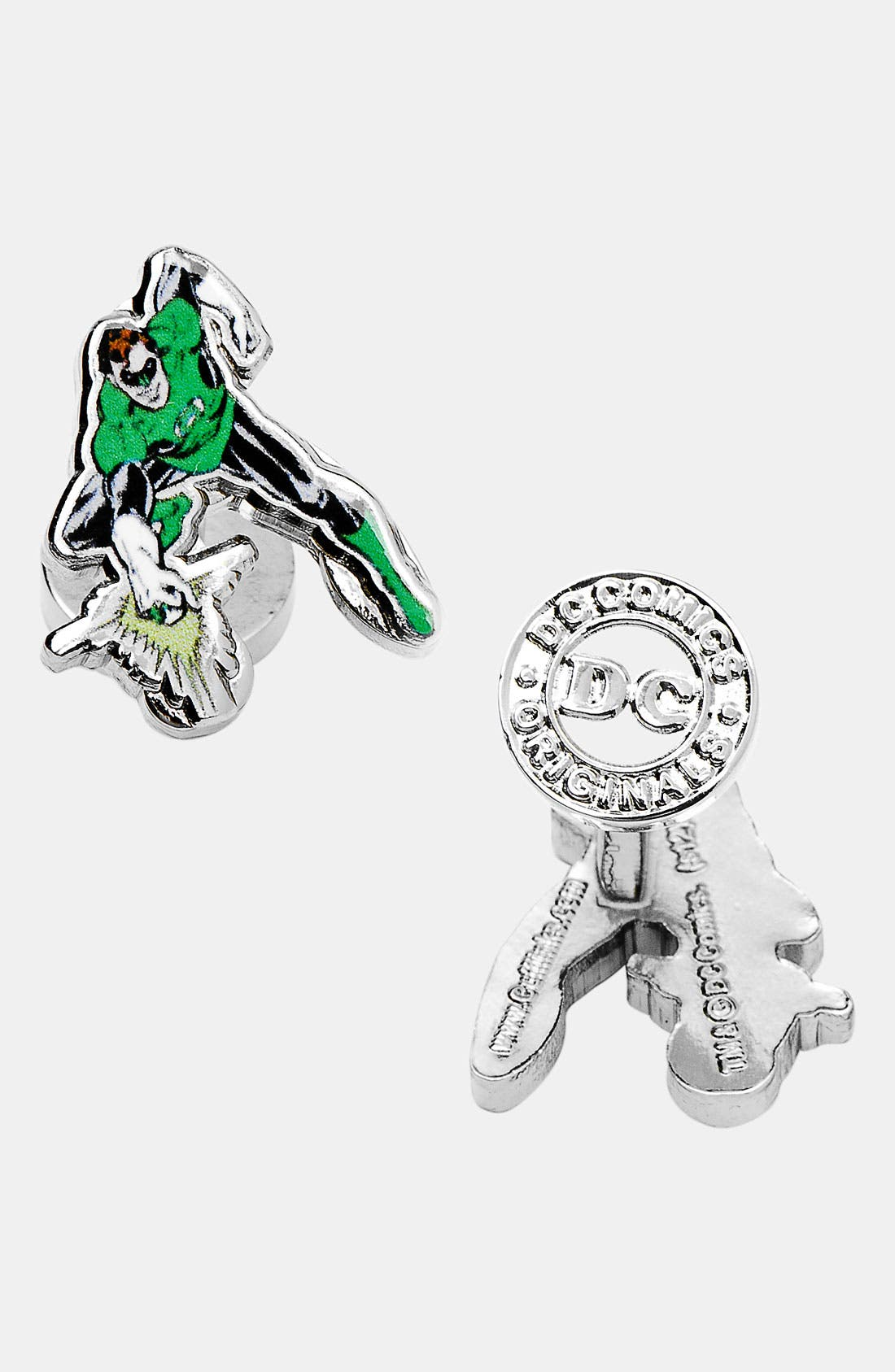 Main Image - Cufflinks, Inc. 'Green Lantern' Cuff Links