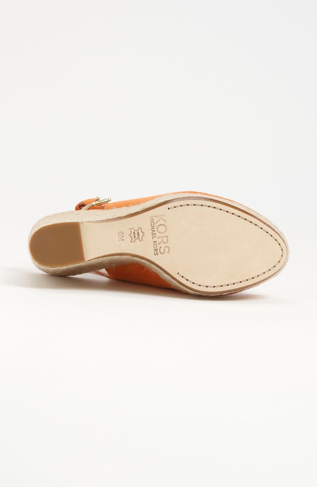 Alternate Image 4  - KORS Michael Kors 'Keelyn' Sandal