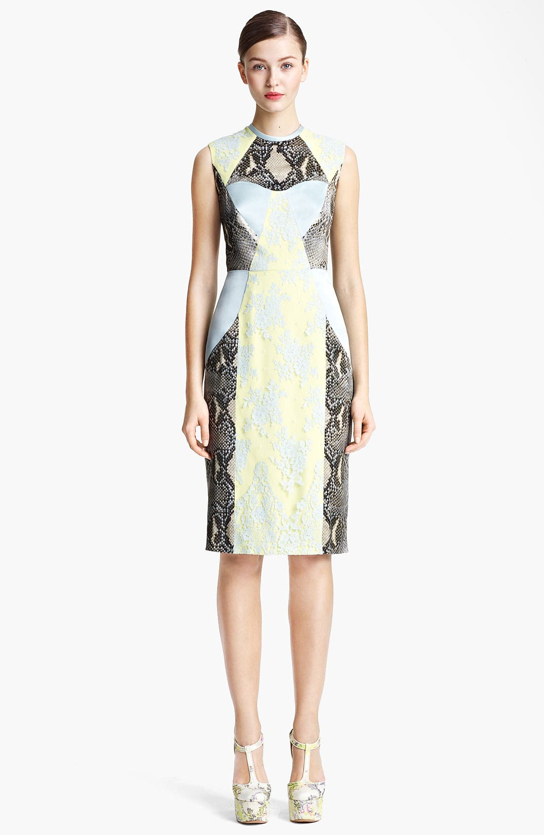 Alternate Image 1 Selected - Erdem 'Brynn' Panelled Dress