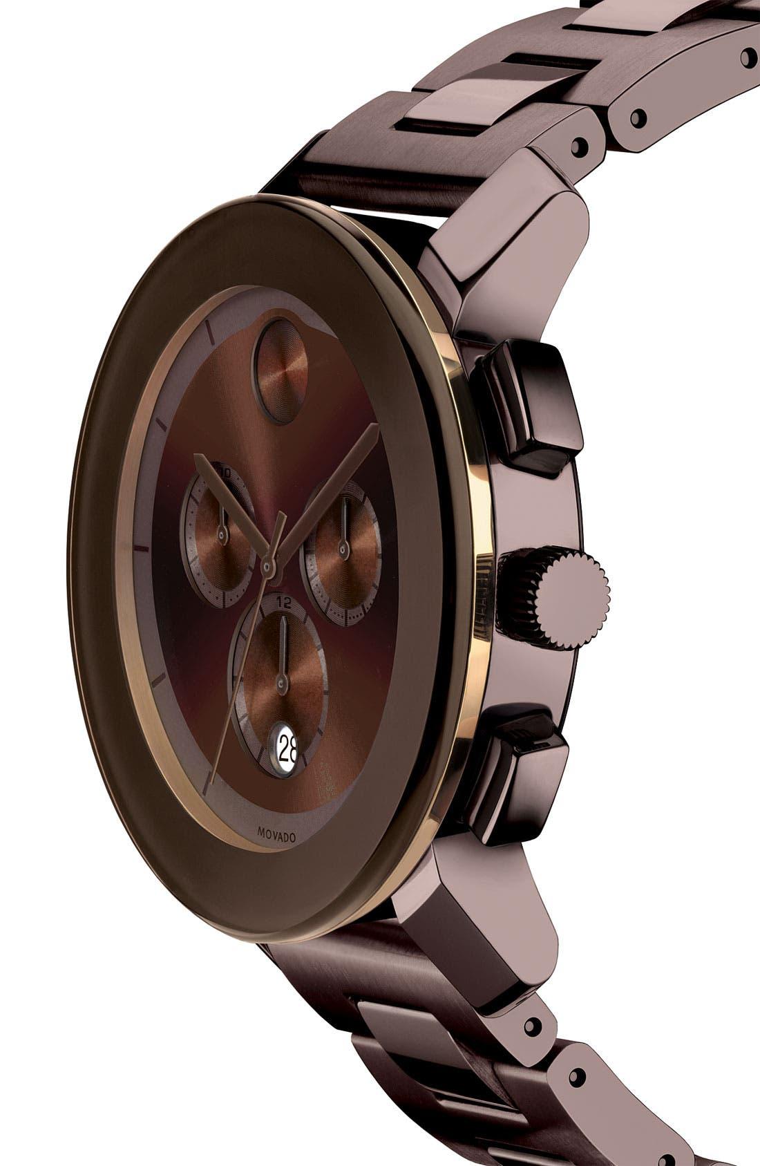 Alternate Image 2  - Movado 'Large Bold Chronograph' Bracelet Watch