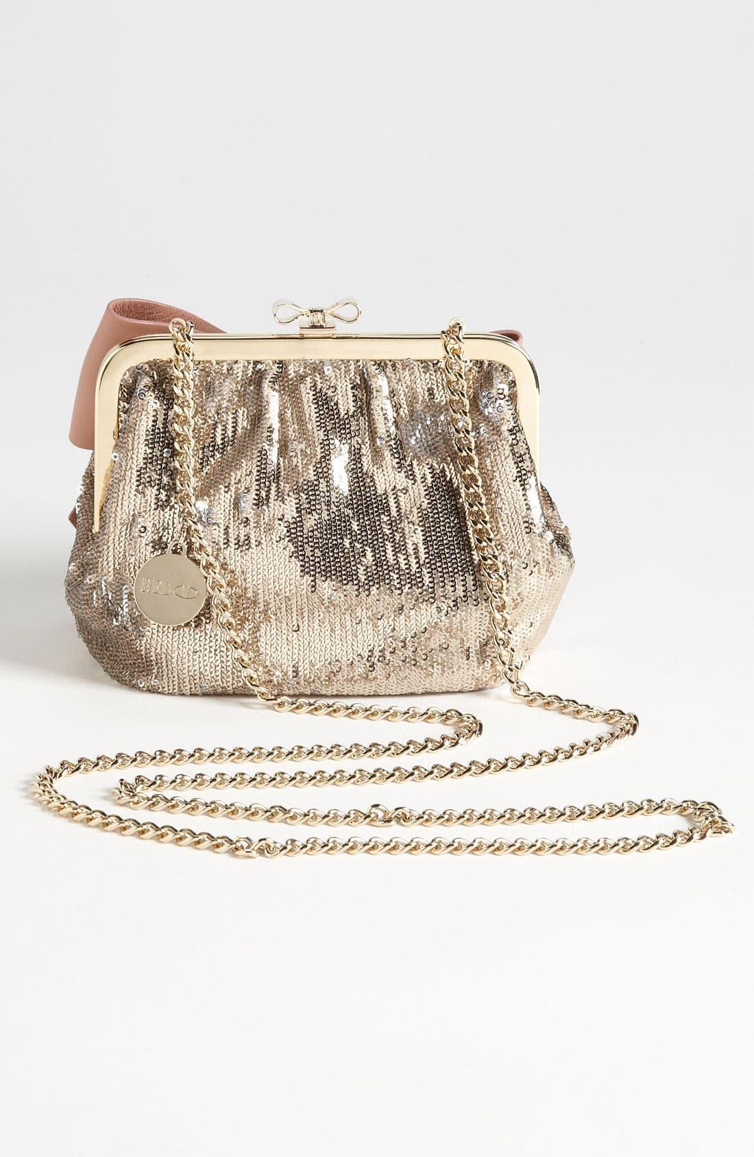 Alternate Image 4  - RED Valentino 'Sequin Bow - Small' Frame Shoulder Bag