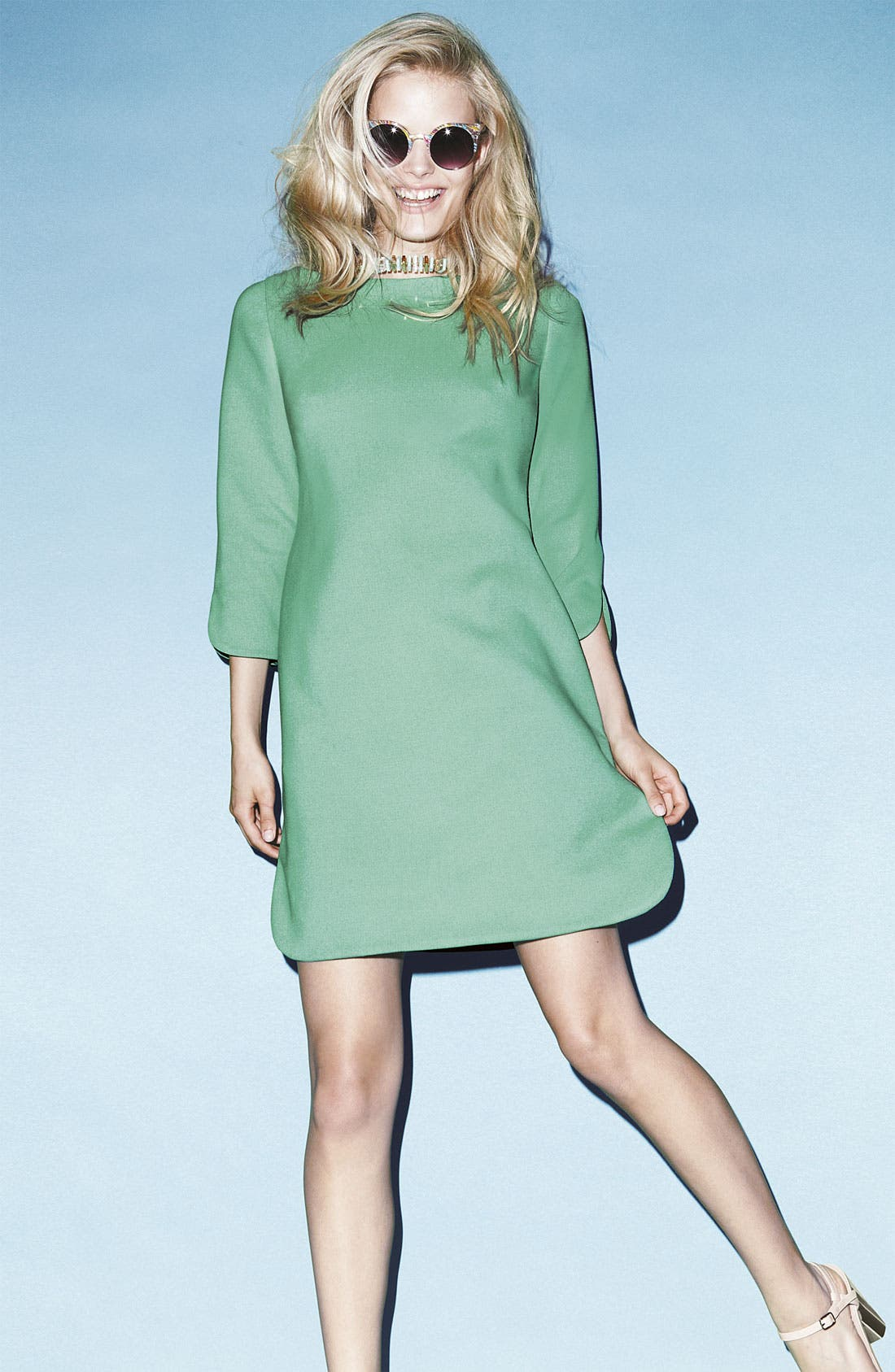 Alternate Image 3  - Eliza J Shift Dress (Plus)