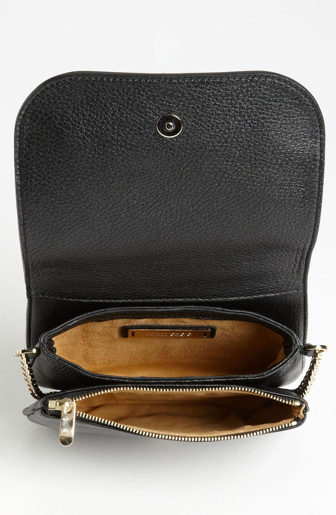Alternate Image 3  - Jimmy Choo 'Shadow' Pearlized Leather Crossbody Bag