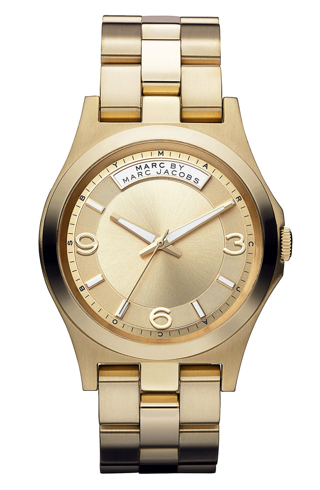 Alternate Image 1 Selected - MARC BY MARC JACOBS 'Baby Dave' Bracelet Watch