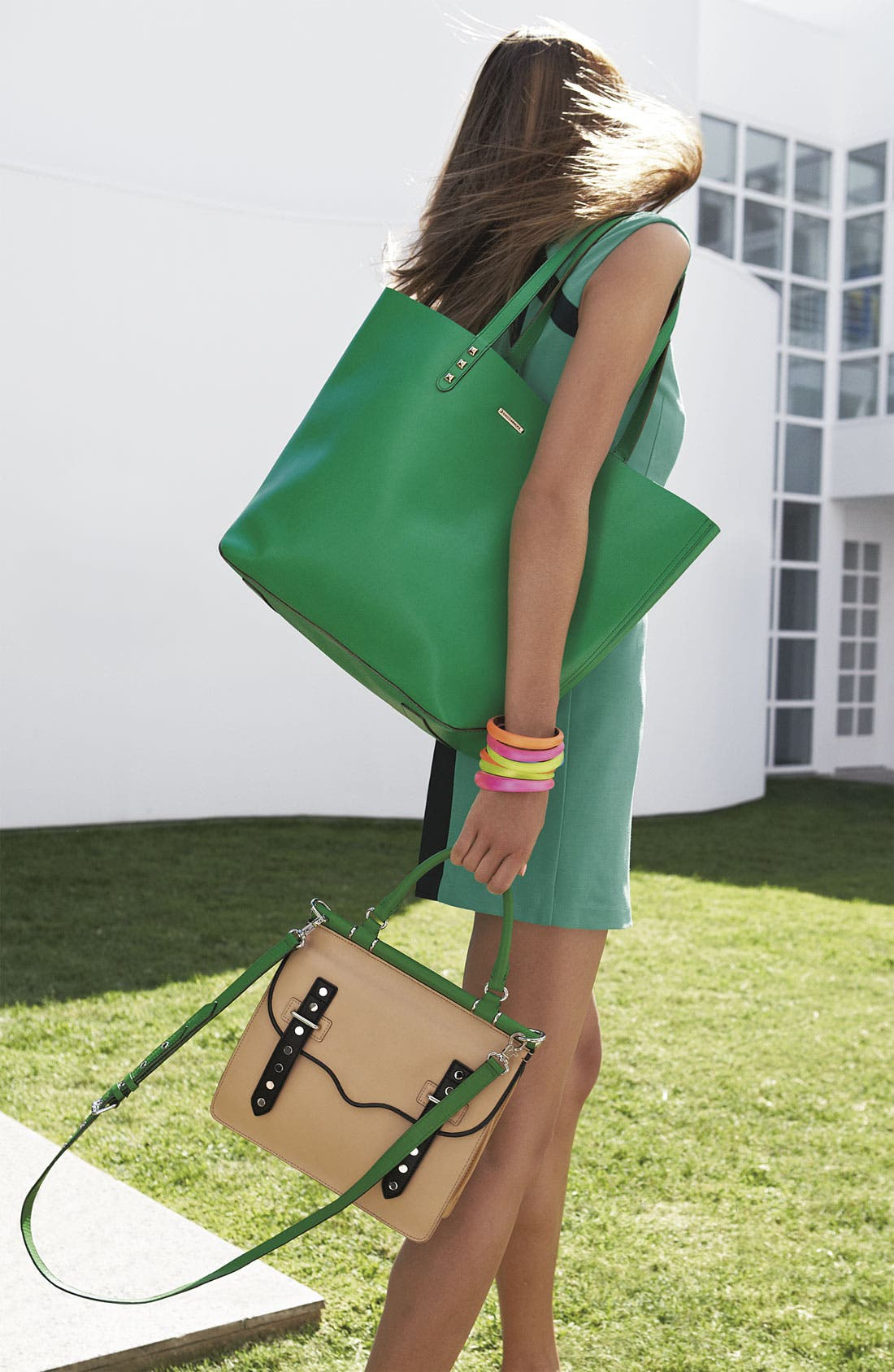 Alternate Image 5  - Rebecca Minkoff 'Brett' Colorblock Satchel