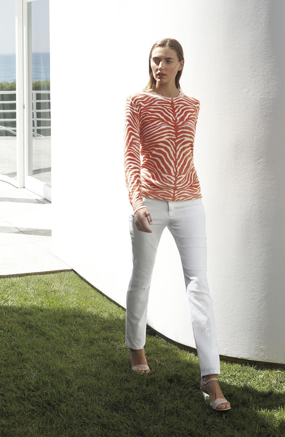 Alternate Image 4  - MICHAEL Michael Kors Zebra Print Sweater