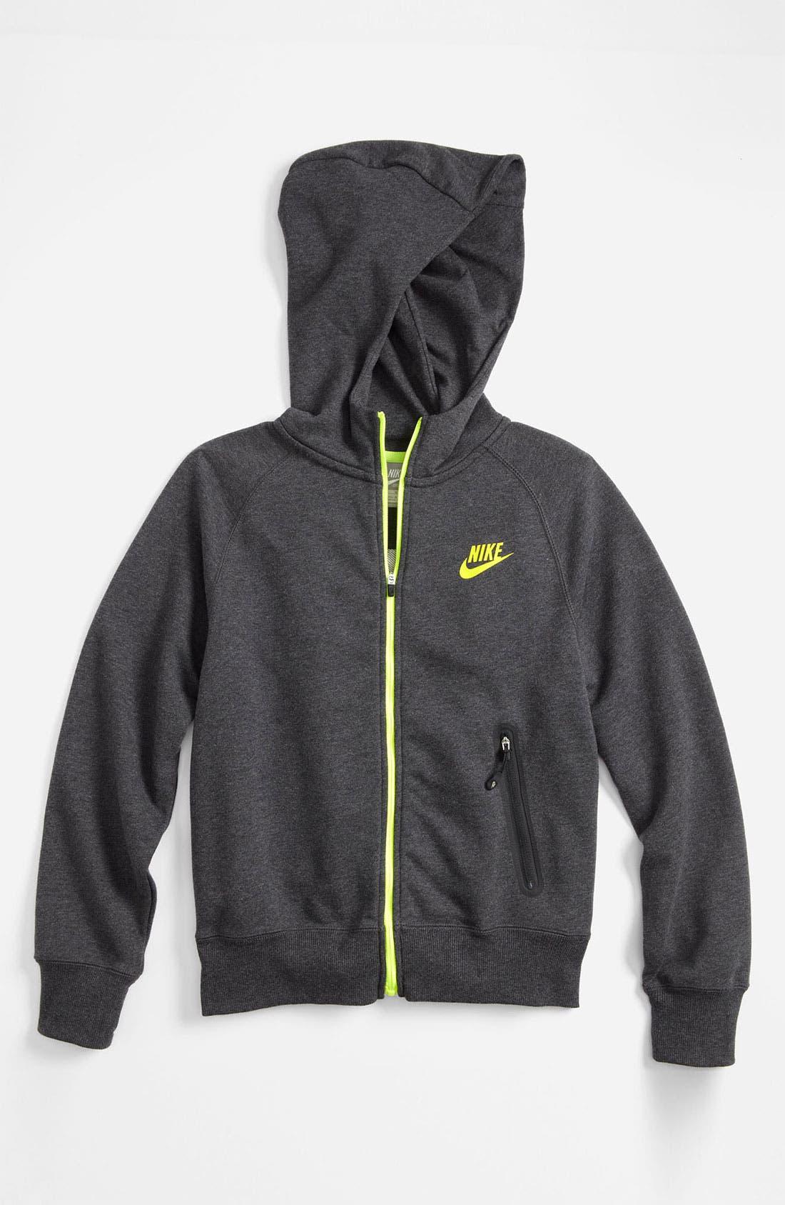 Main Image - Nike Full Zip Hoodie (Big Boys)