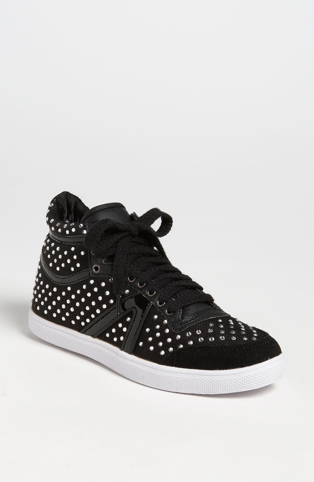 Alternate Image 1 Selected - Topshop 'Tiki-Gem' High Top Sneaker