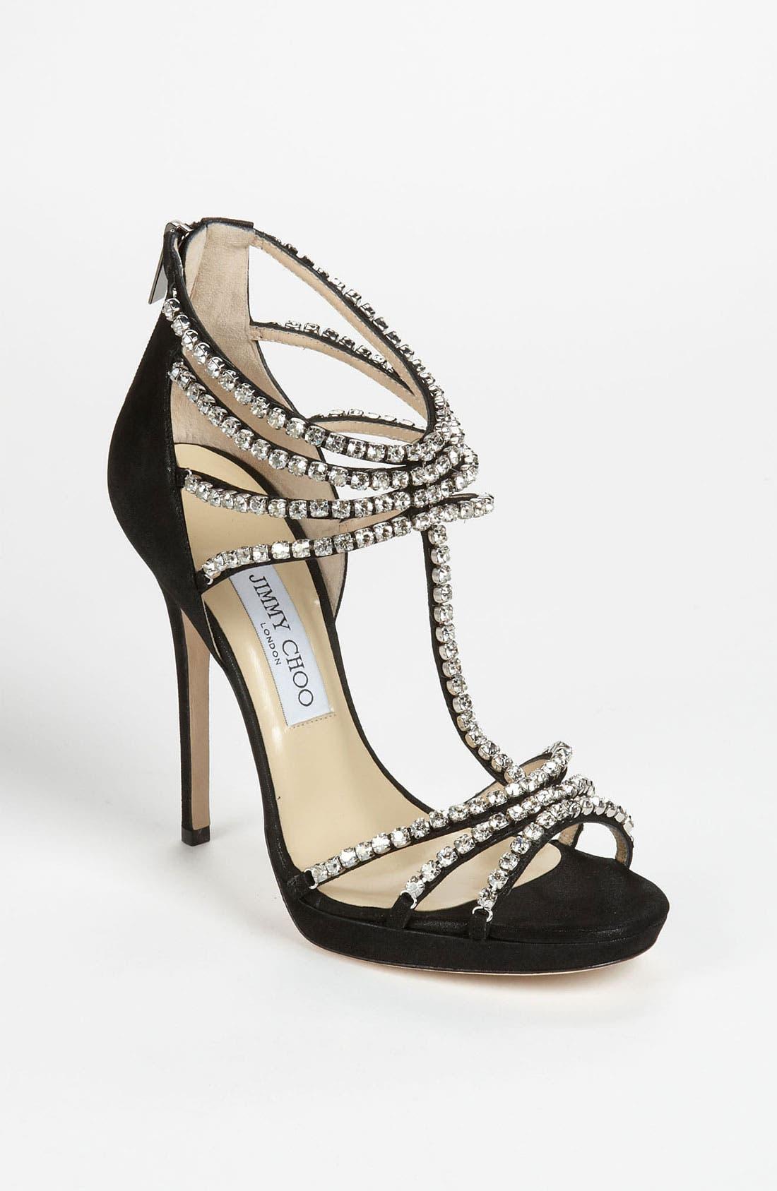 Alternate Image 1 Selected - Jimmy Choo 'Kera' Platform Sandal