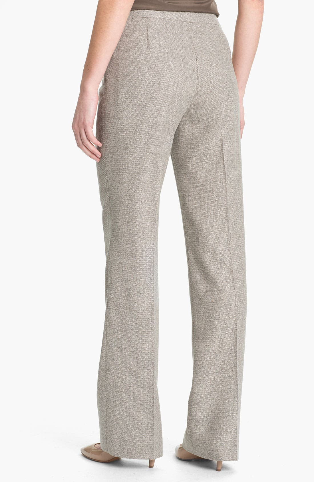 Alternate Image 2  - Lafayette 148 New York Menswear Suiting Pants