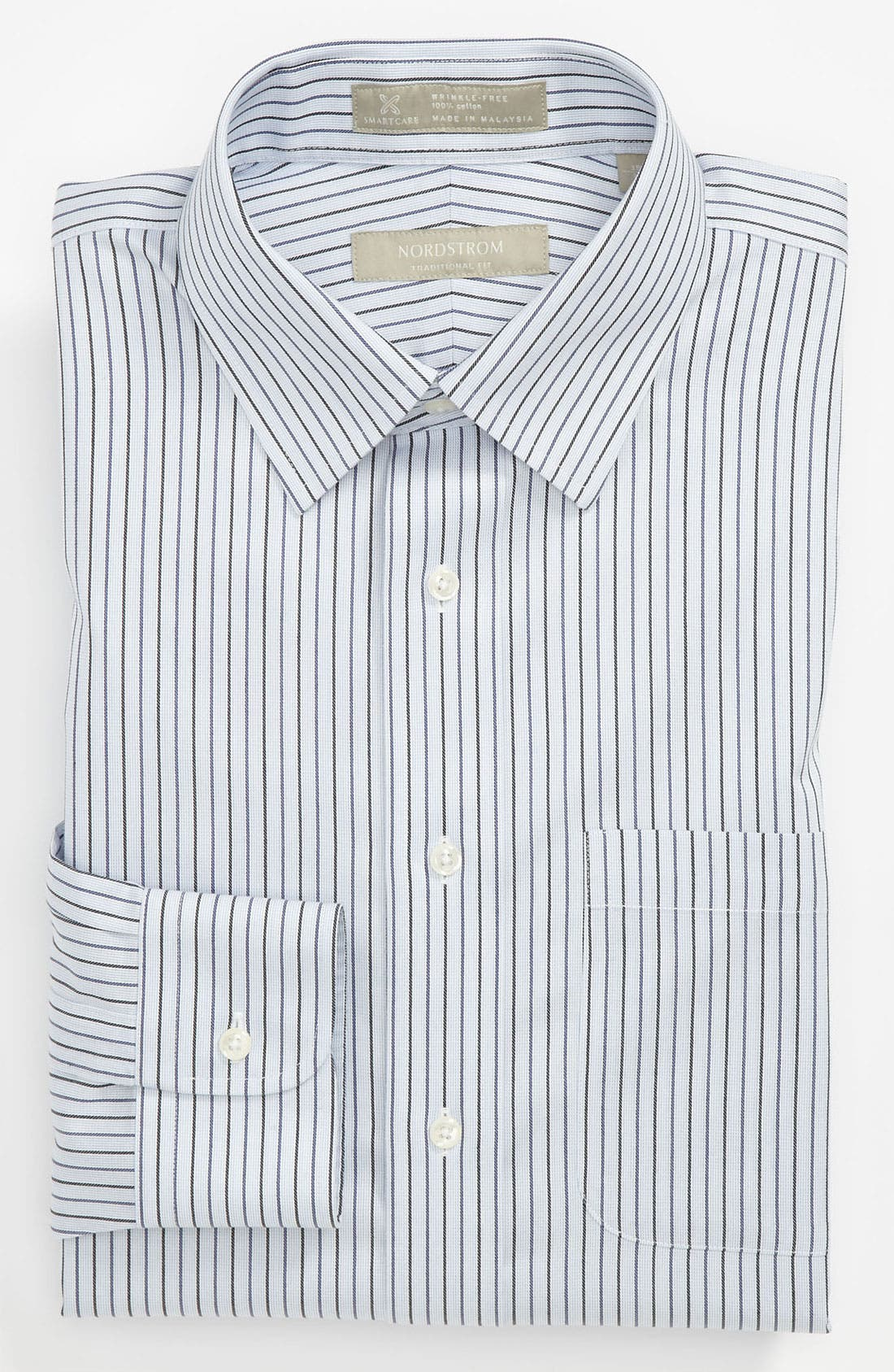 Main Image - Nordstrom Smartcare™ Traditional Fit Dress Shirt