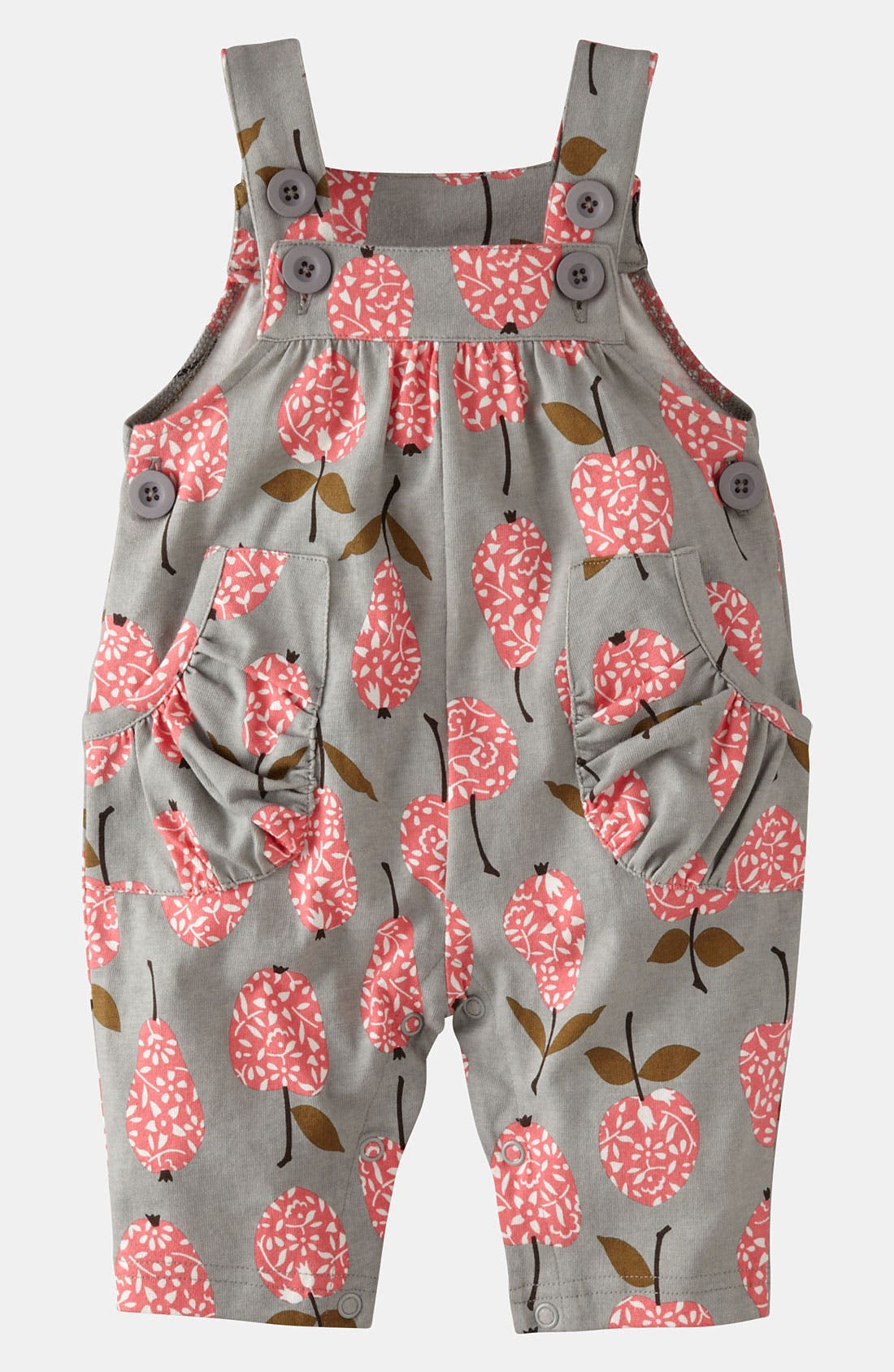 Alternate Image 1 Selected - Mini Boden Jersey Overalls (Baby)