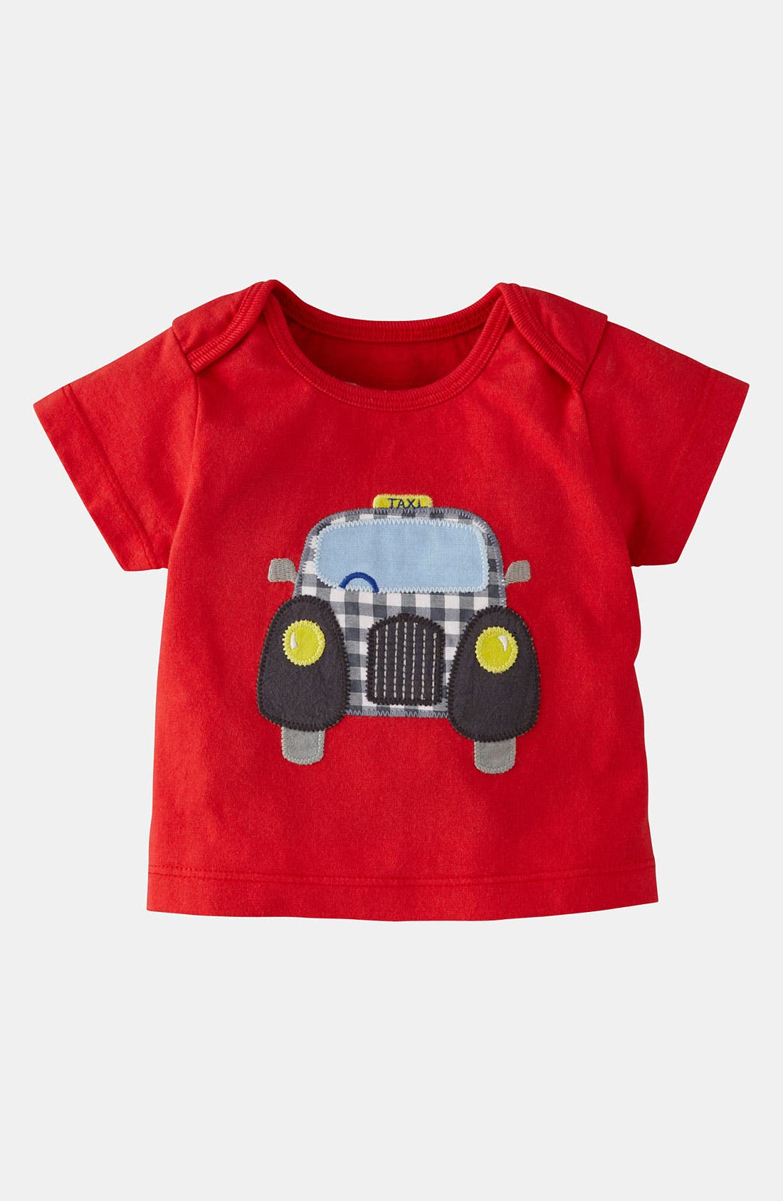 Main Image - Mini Boden 'Vehicle Appliqué' T-Shirt (Baby)
