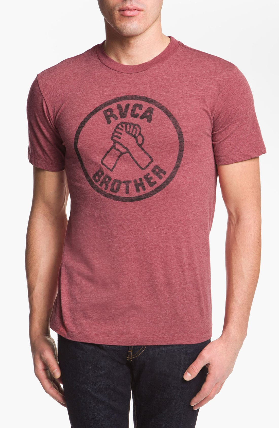 Alternate Image 1 Selected - RVCA 'Brother' T-Shirt