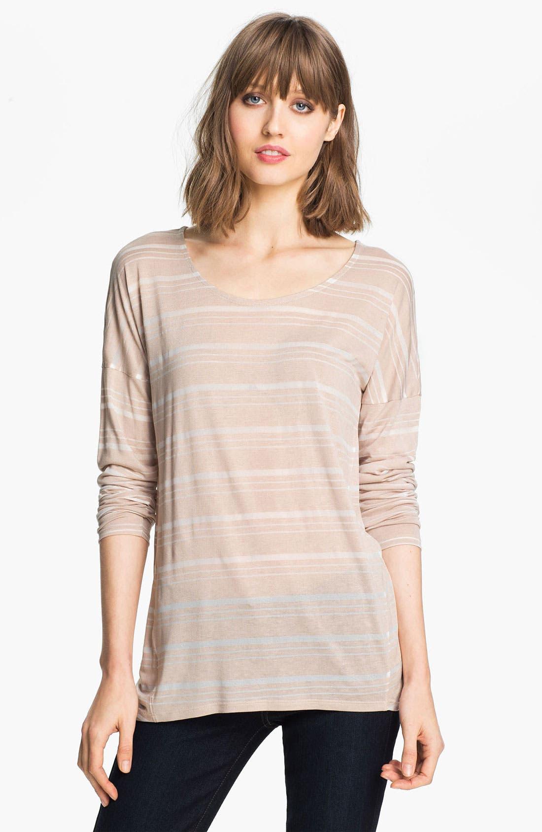 Main Image - Trouvé Stripe Long Sleeve Tee