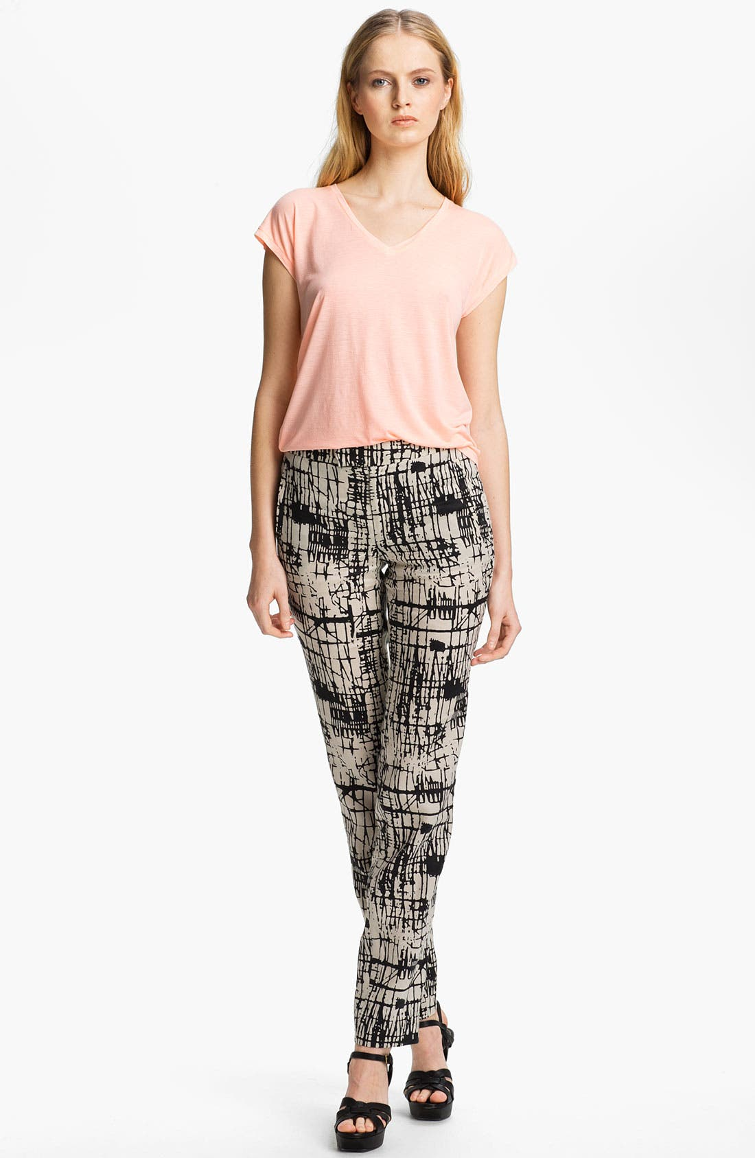 Alternate Image 2  - J Brand Ready-to-Wear 'Rosemary' Print Trousers