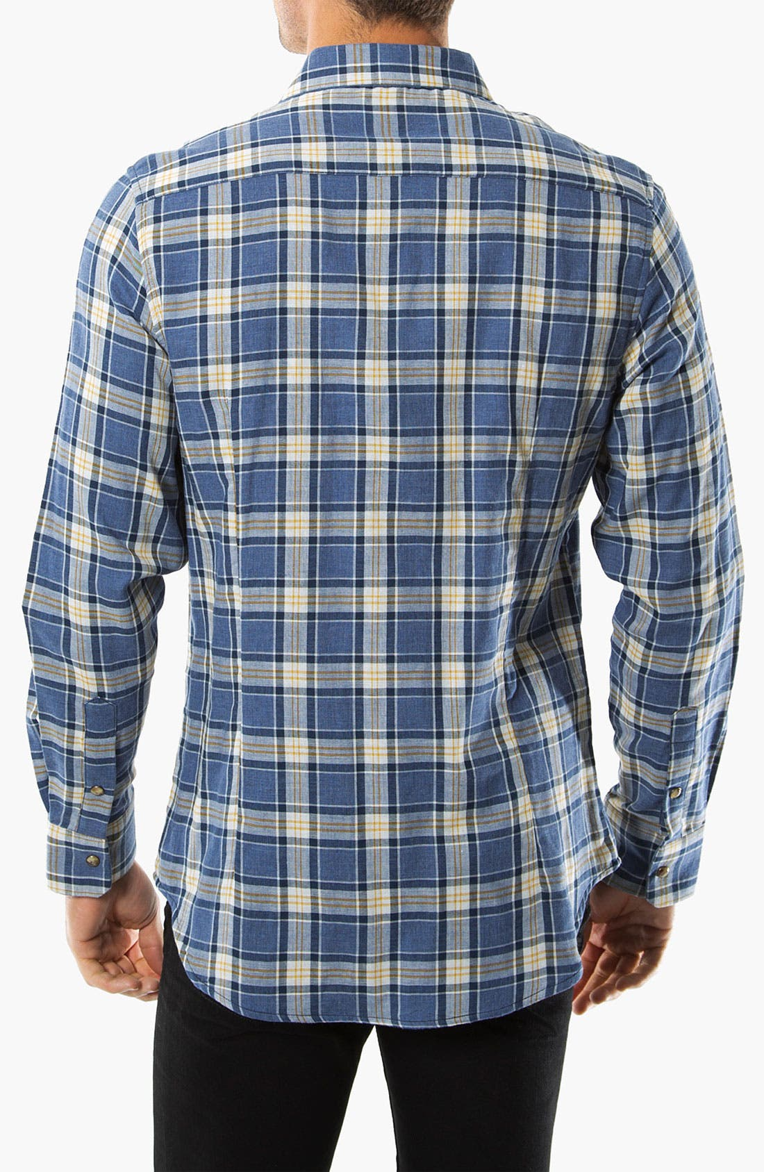 Alternate Image 2  - 7 Diamonds 'Wilderness' Woven Sport Shirt