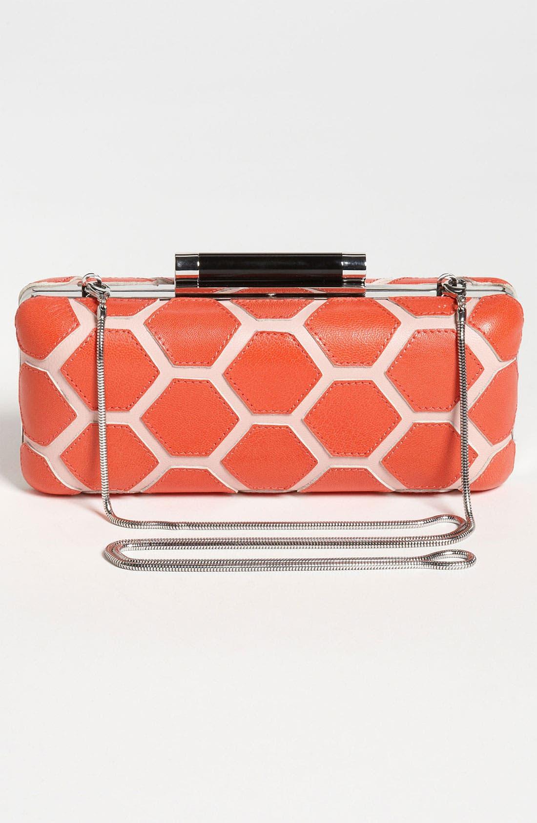 Alternate Image 4  - Diane von Furstenberg 'Tonda - Hexagon Patchwork' Clutch