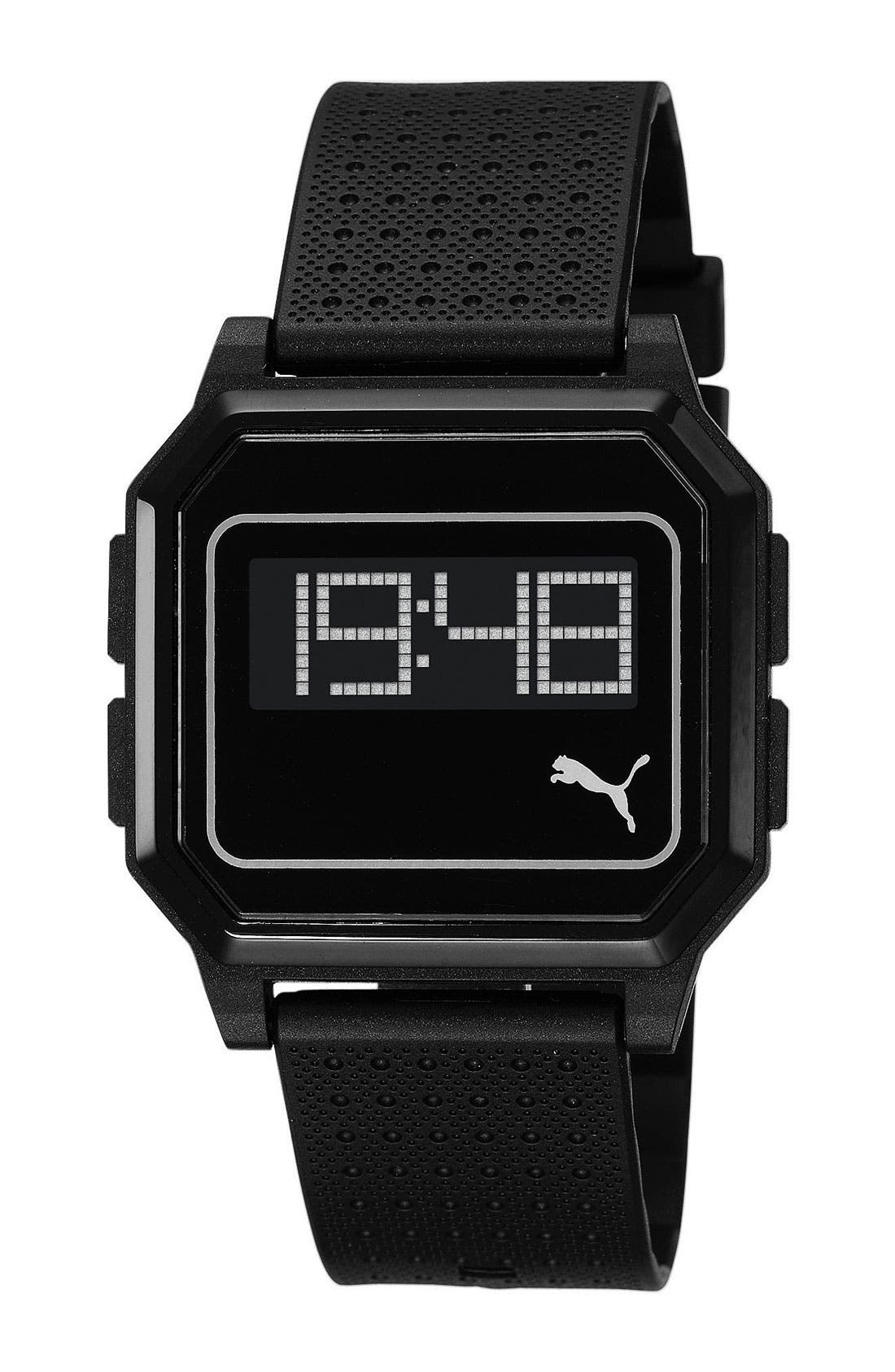 Alternate Image 1 Selected - PUMA Digital Watch, 36mm x 40mm