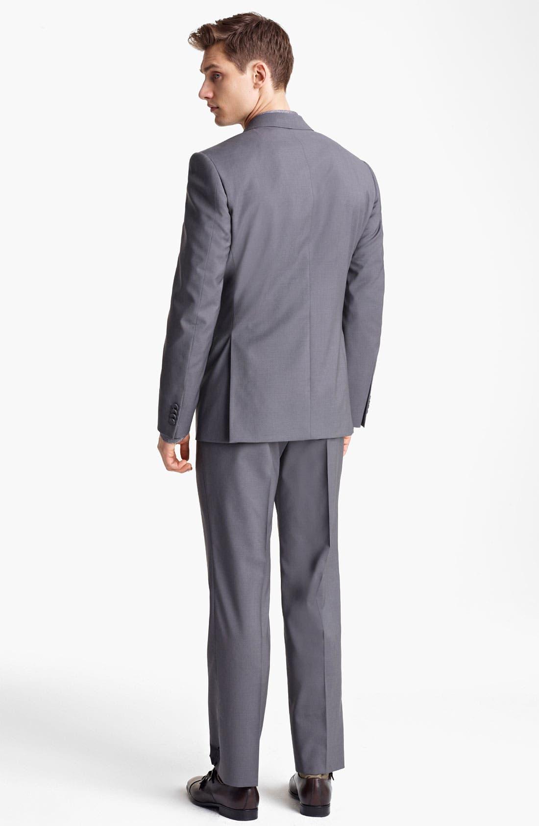 Alternate Image 3  - Z Zegna Trim Fit Wool Suit