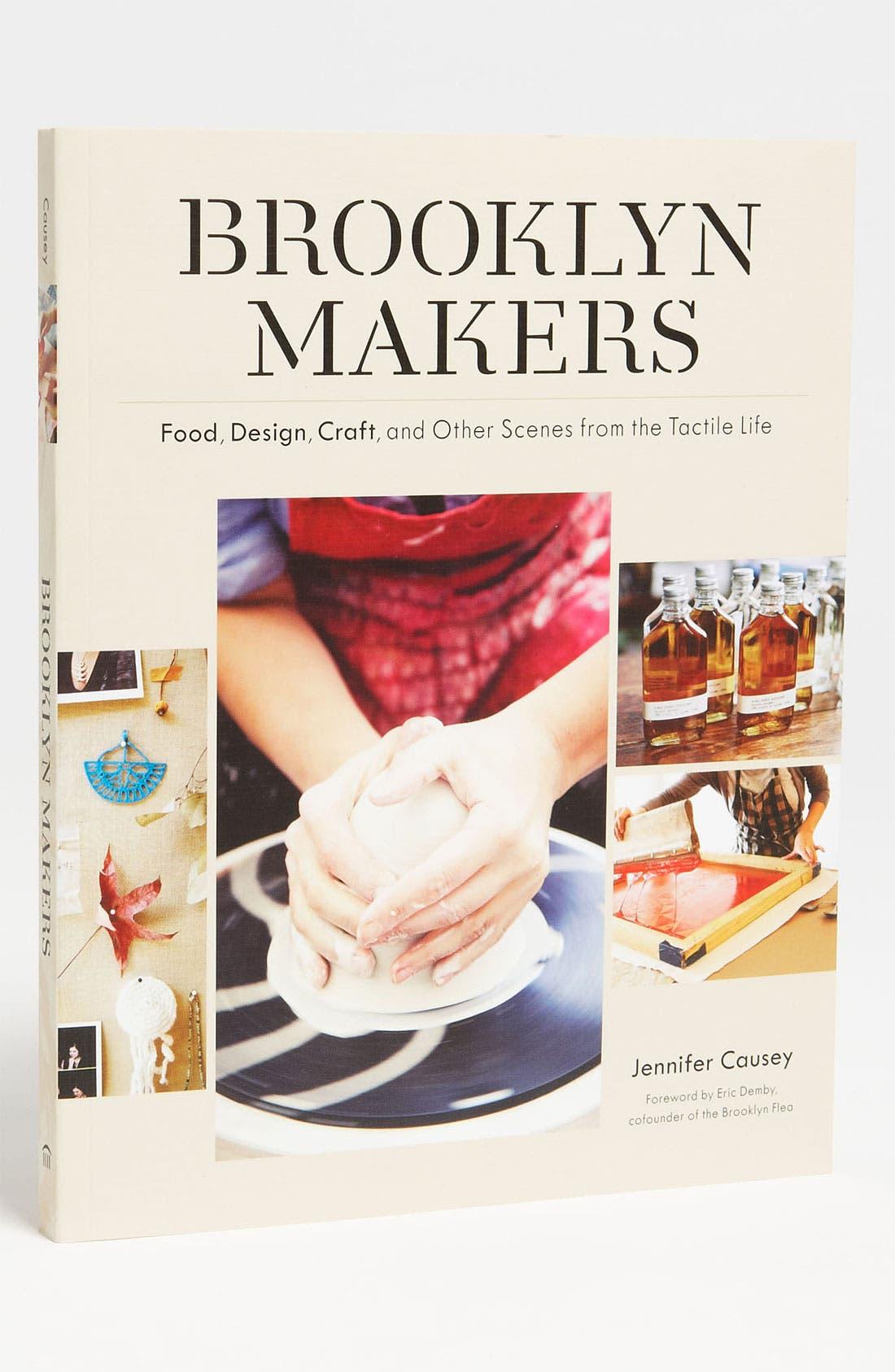 Alternate Image 1 Selected - 'Brooklyn Makers'  Book