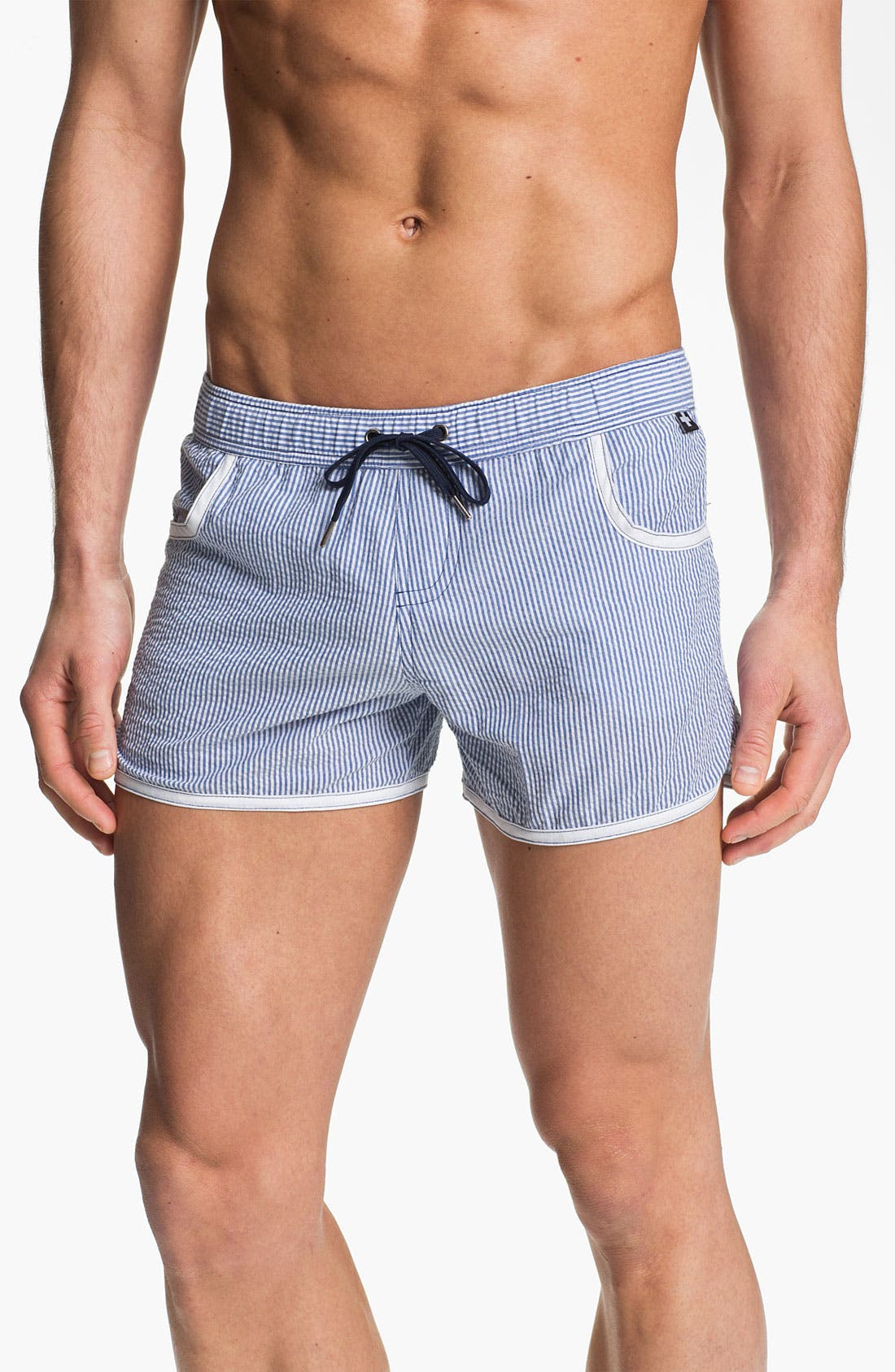 Main Image - Andrew Christian 'West Hampton' Swim Shorts