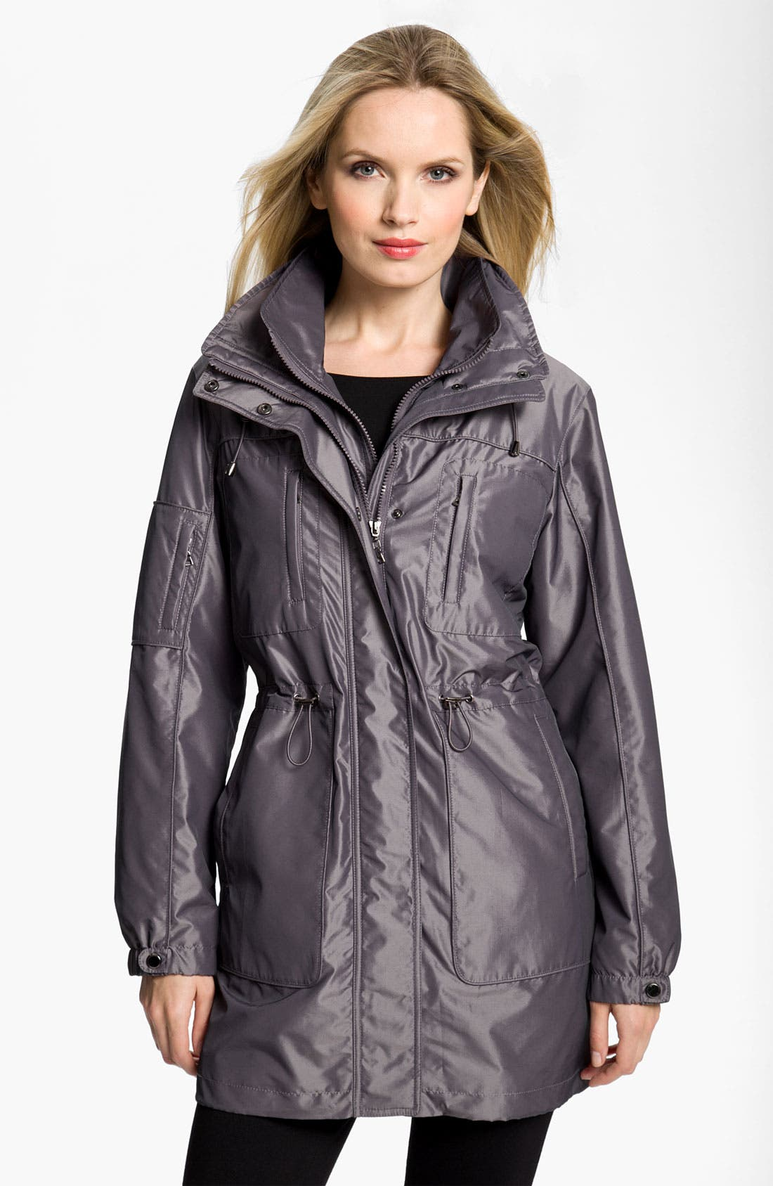 Alternate Image 1 Selected - Gallery Anorak with Detachable Liner (Petite)