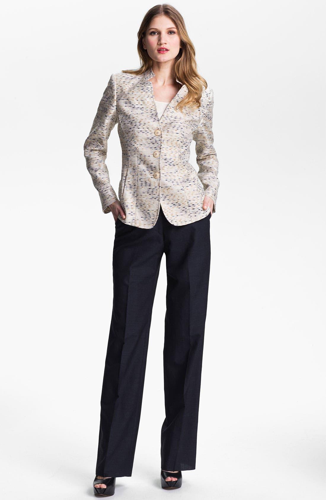 Alternate Image 4  - Santorelli Abstract Tweed Jacket