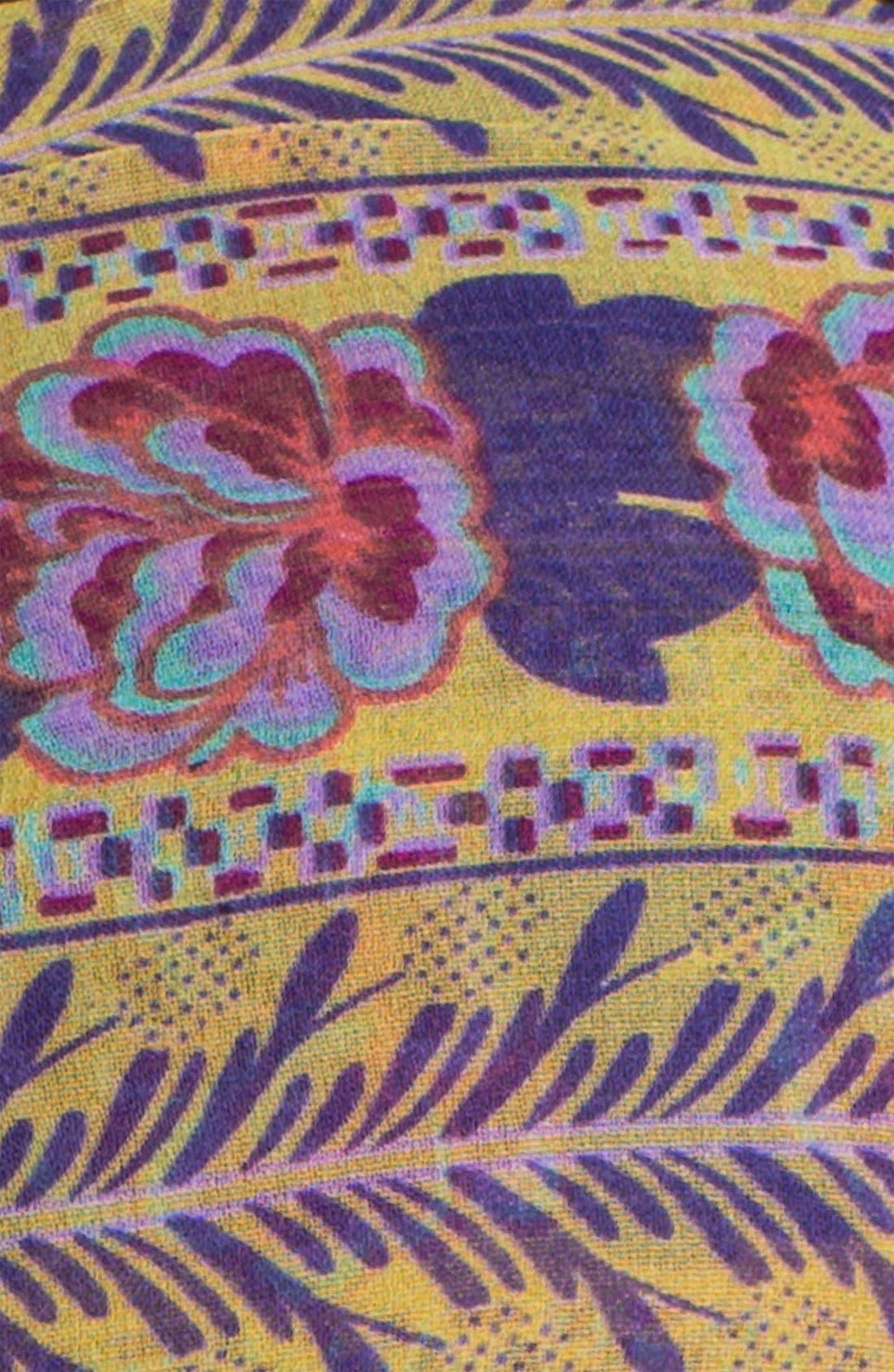 Alternate Image 2  - Tasha 'Floral Border' Head Wrap