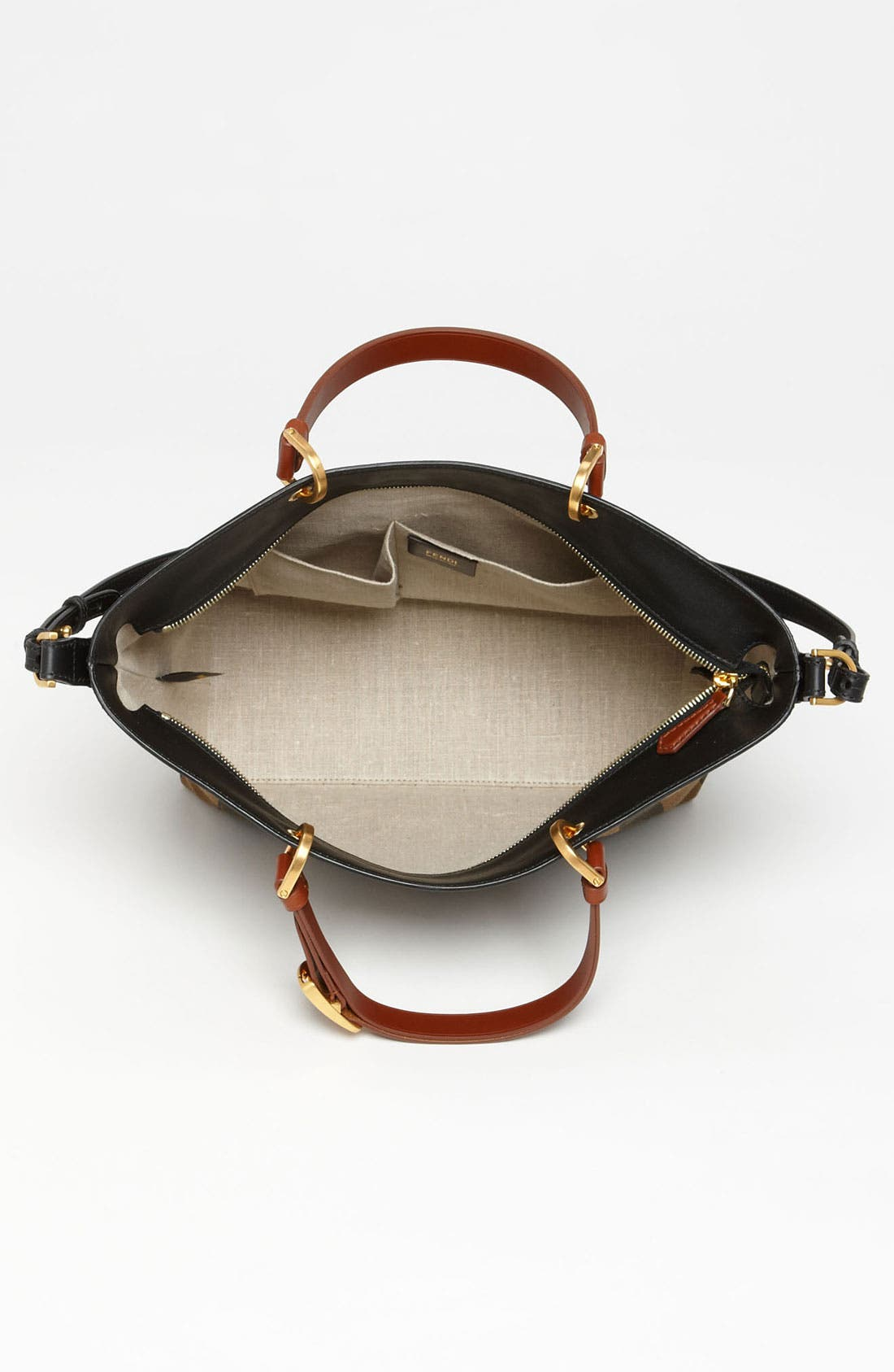 Alternate Image 3  - Fendi 'Pequin - Large' Shoulder Bag