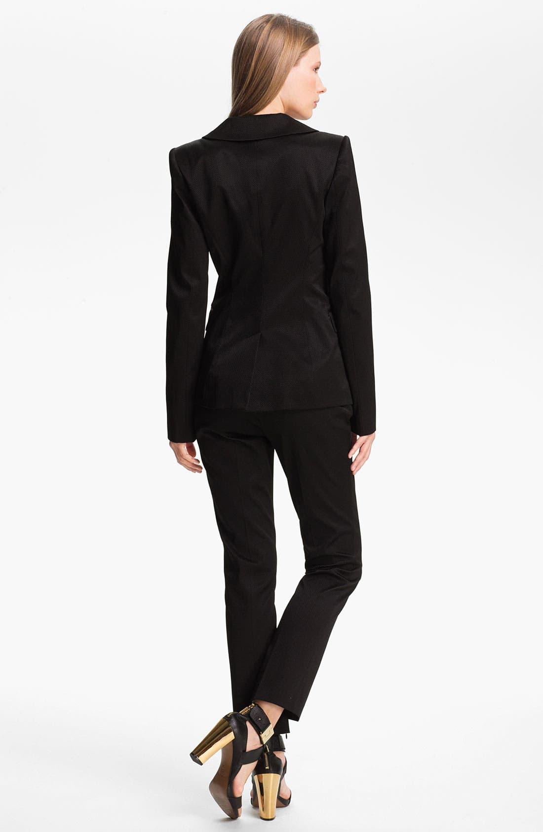 Alternate Image 2  - Rachel Zoe 'Bryce' High Collar Blazer