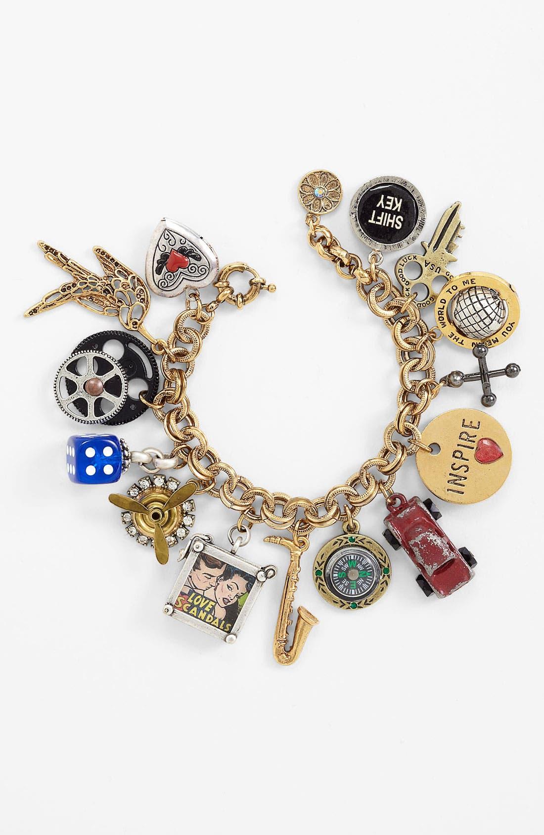 Alternate Image 1 Selected - Ollipop Kitsch Charm Bracelet
